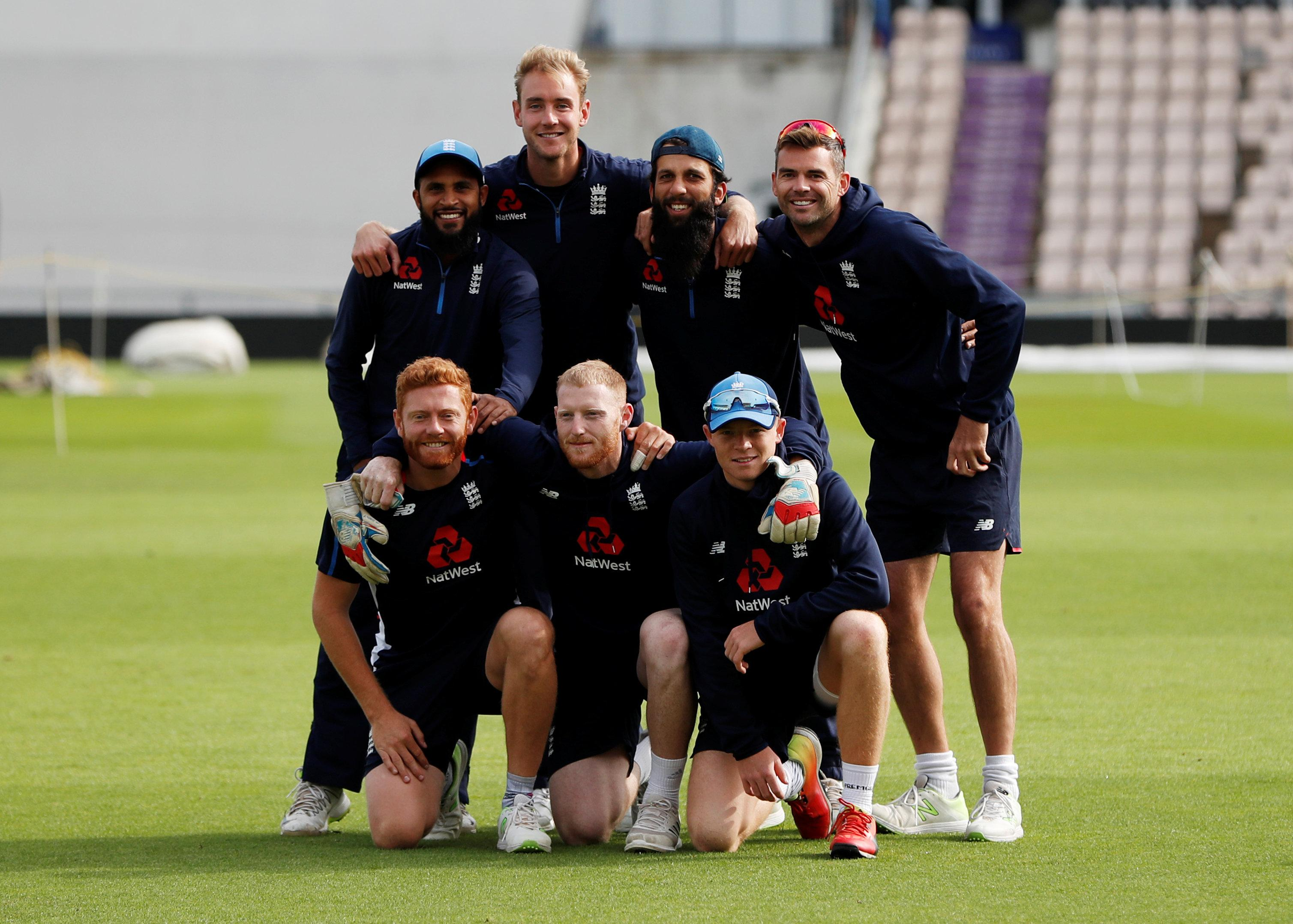 James Anderson will line-up with his team-mates at the Ageas Bowl this weekend