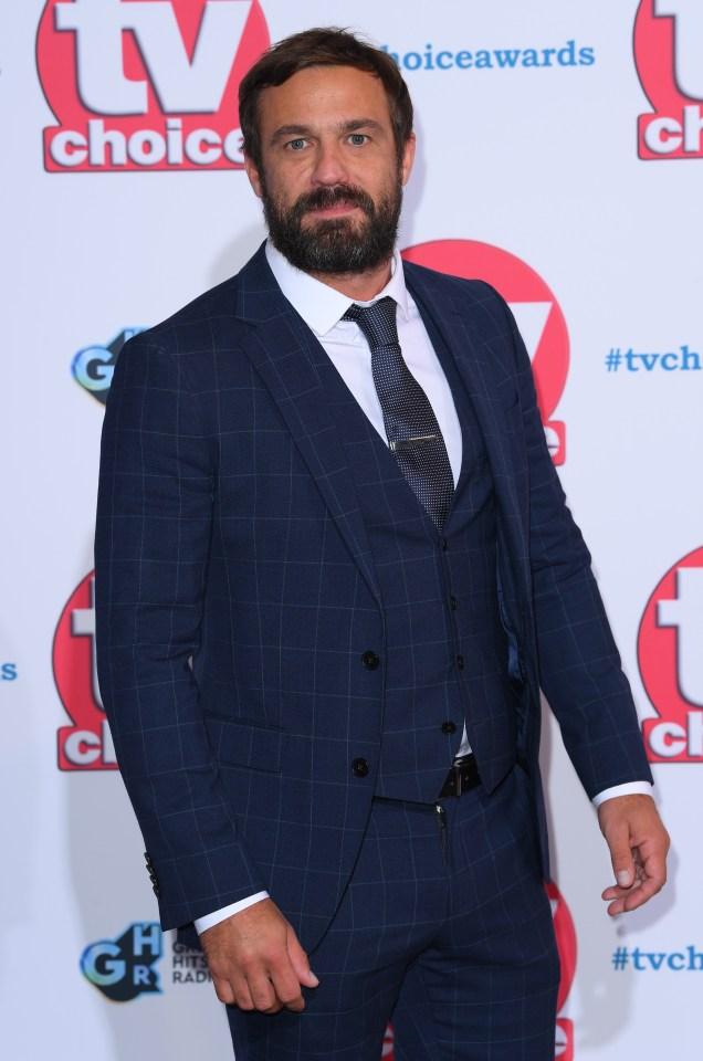 Jamie Lomas TV Choice Awards 2019
