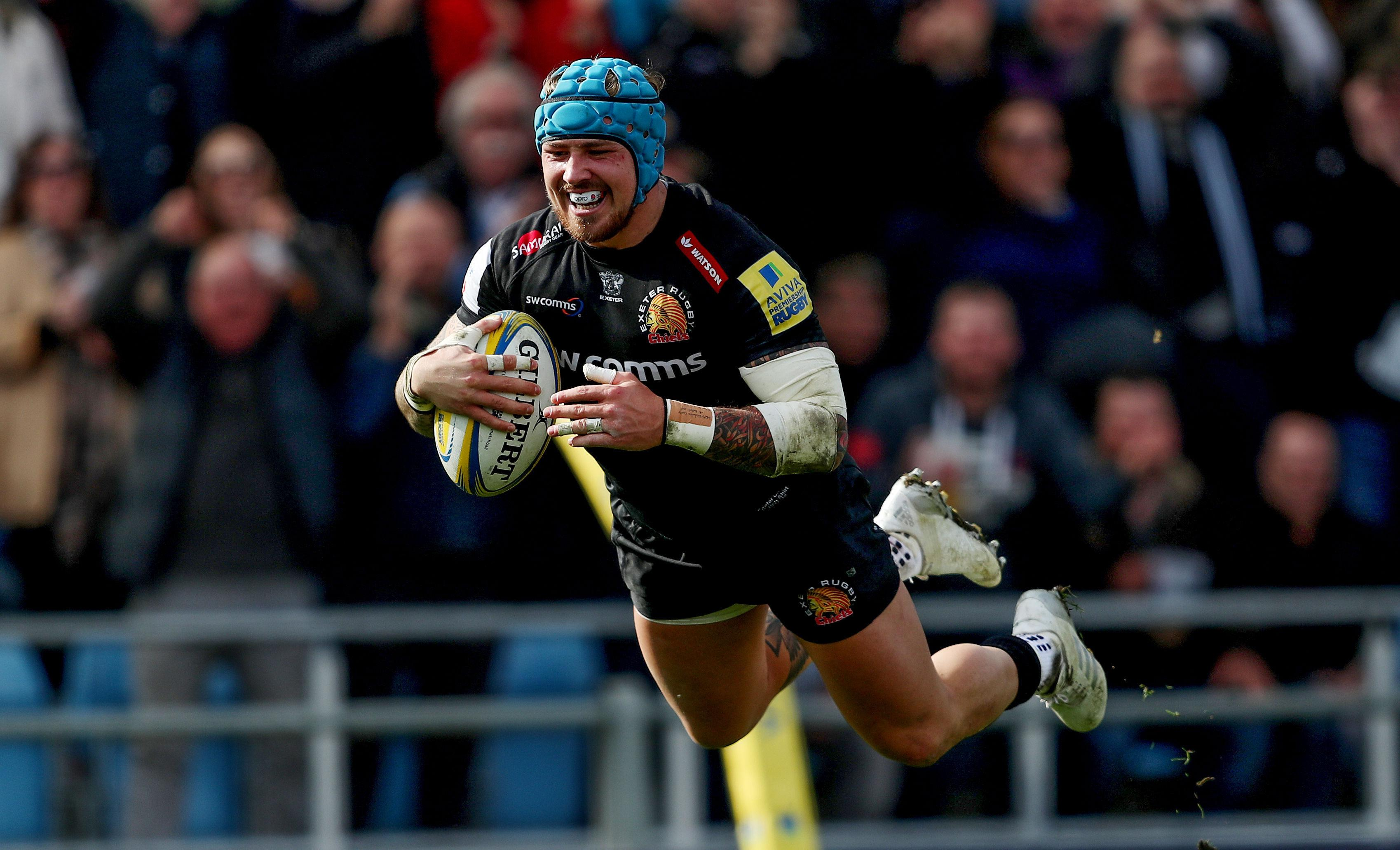 Lions and England winger Jack Nowell should be back for Exeter Chiefs at the end of the month after an injury lay-off