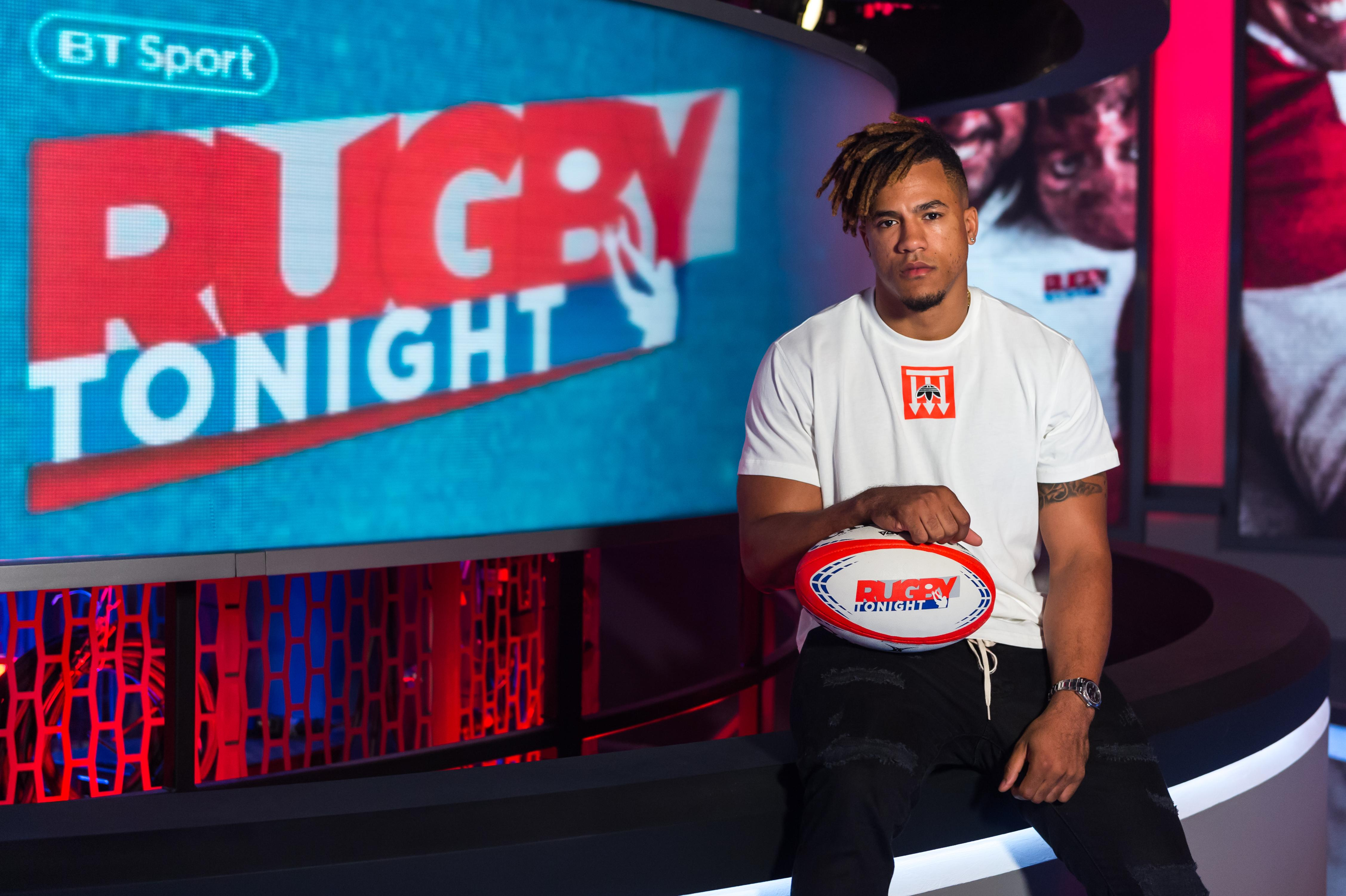 Anthony Watson spoke to SunSport from the BT Rugby Tonight studio