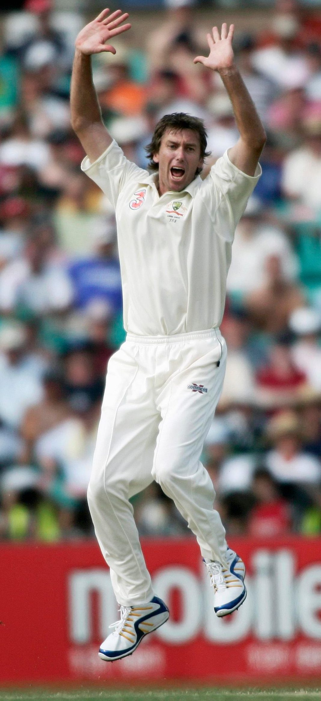 Glenn McGrath is rated by James Anderson as the paceman who had everything