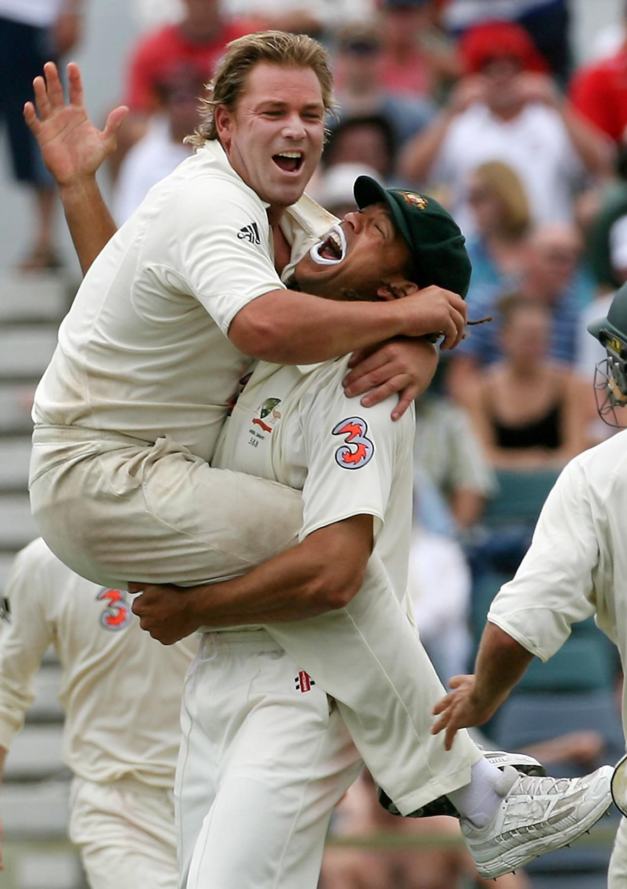 Finished his career with 5-0 defeat of England in 2006-7 and 708 wickets