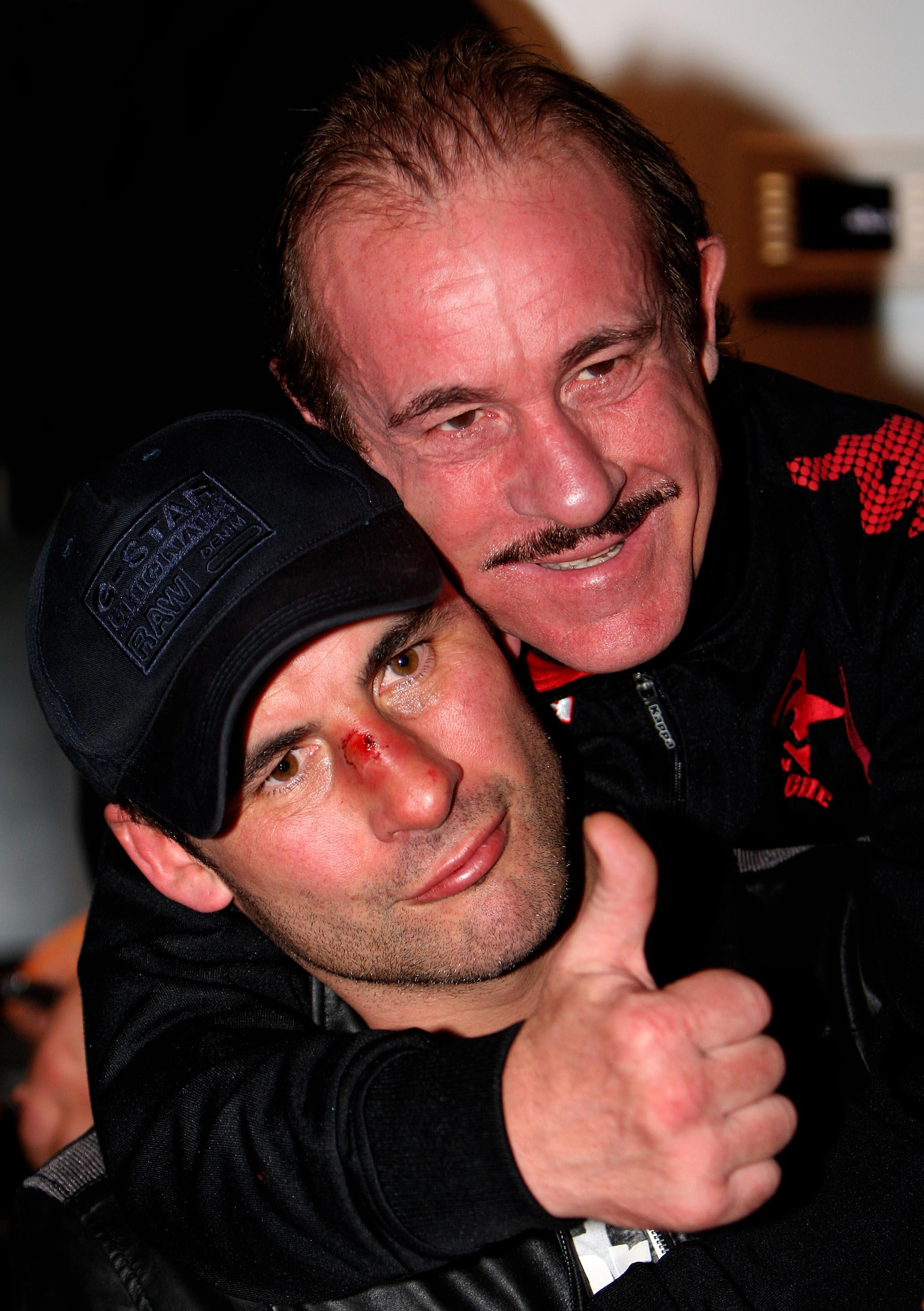 Enzo Calzaghe trained son Joe to an unbeaten career record of 46-0