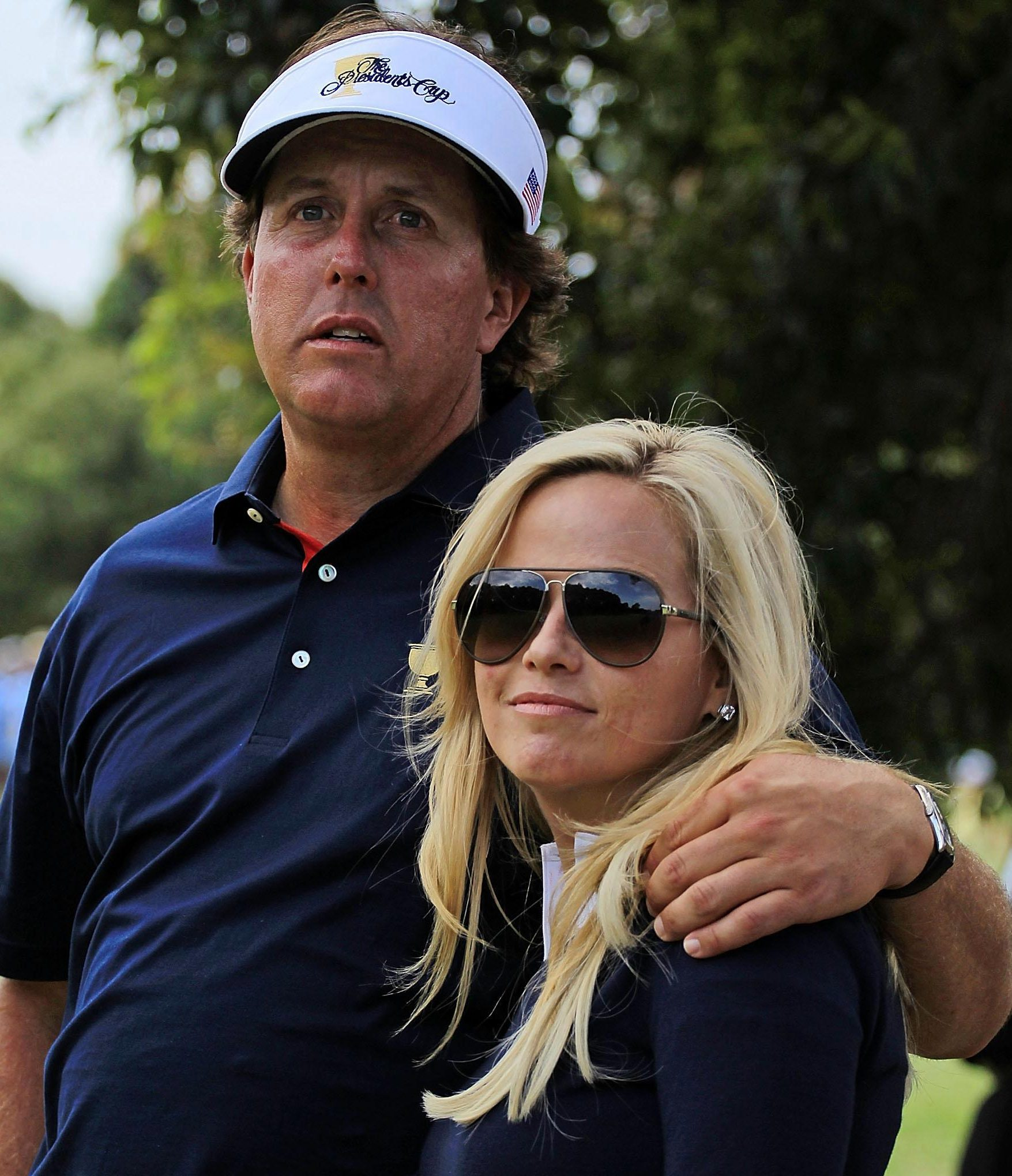 Phil and Amy Mickelson met when they were both students at Arizona State University