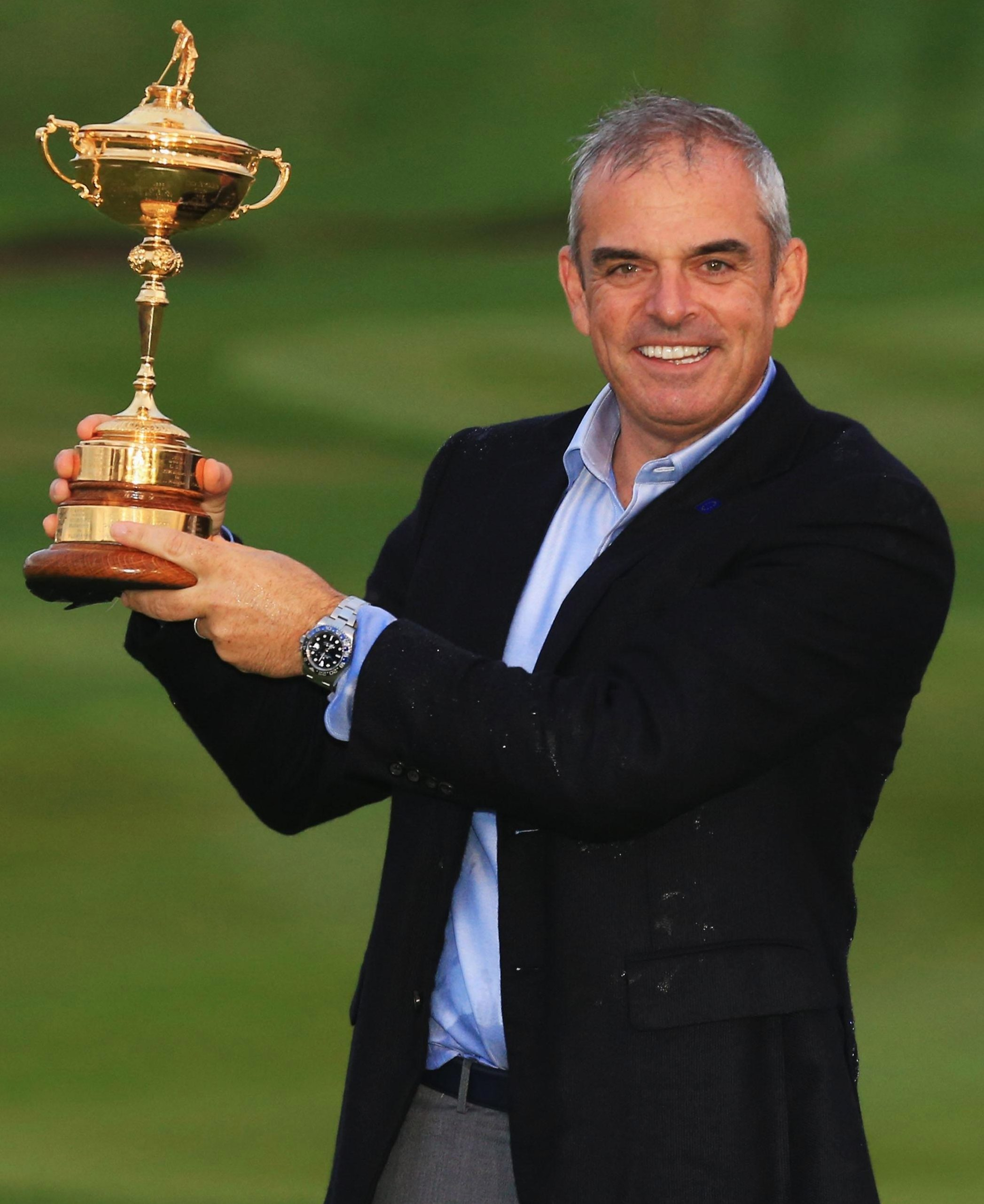 Paul McGinley was the captain at Gleneagles