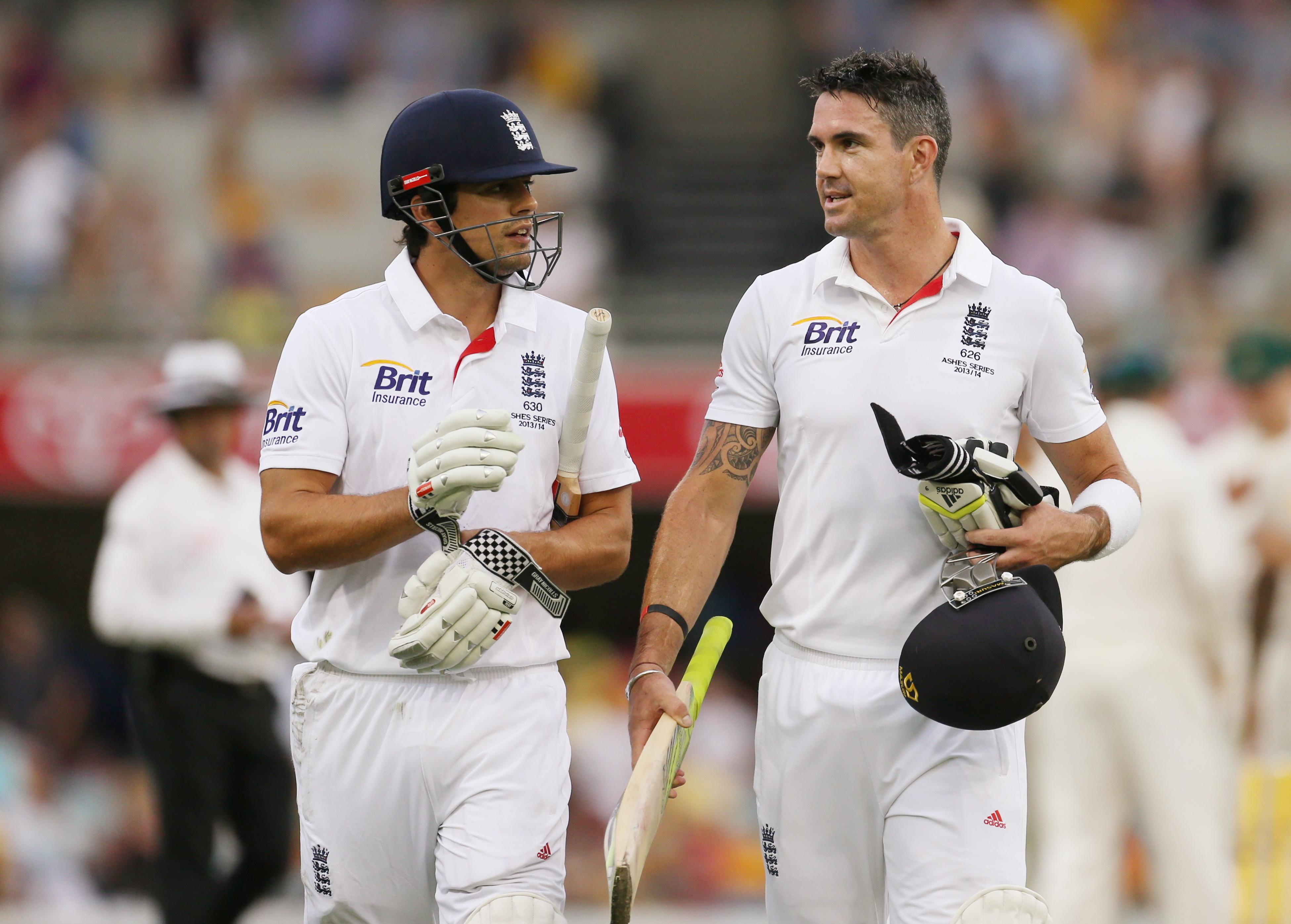 Alastair Cook and Kevin Pietersen have not spoken since they fell out in 2014