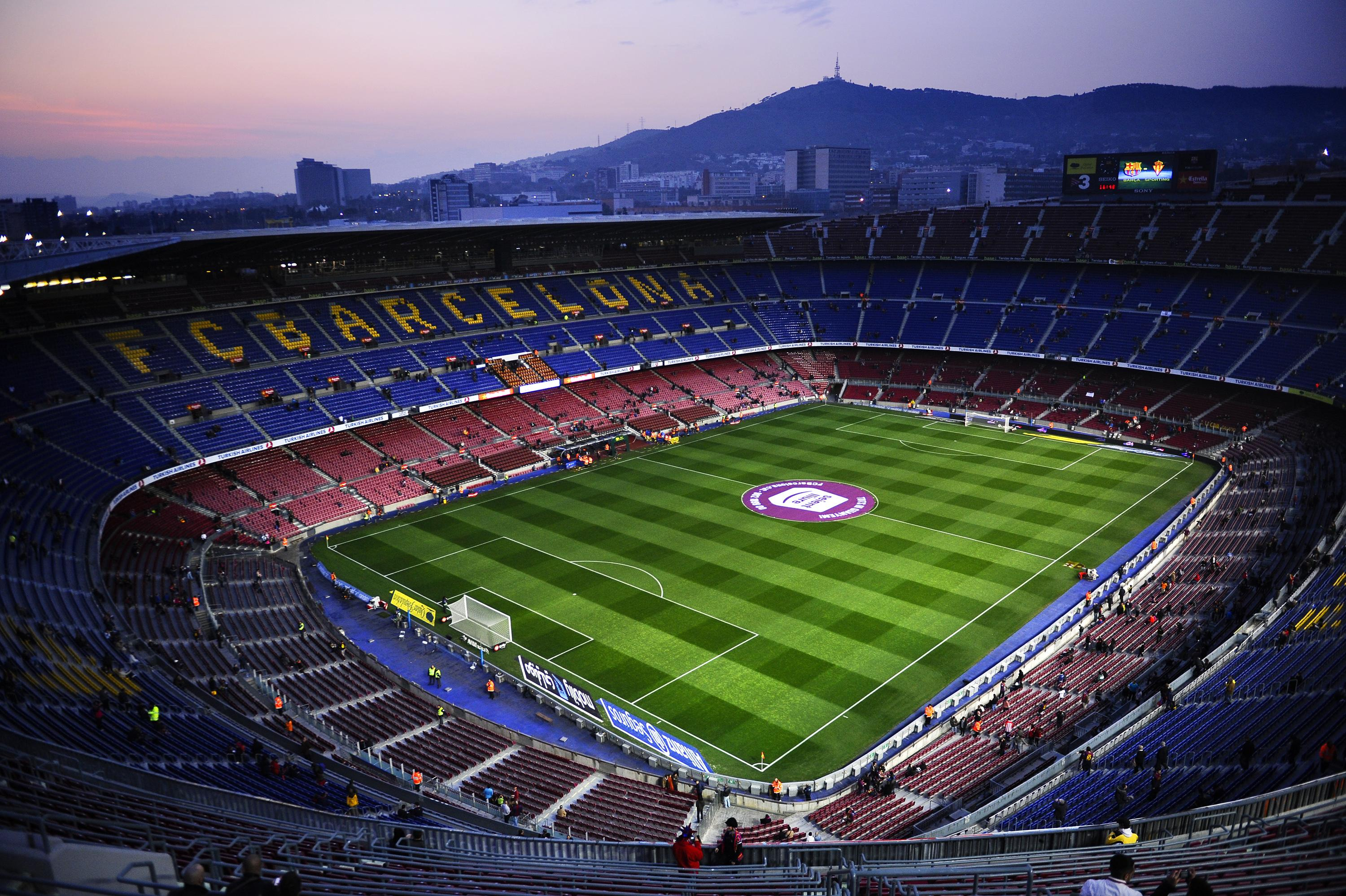 The Nou Camp looks to host the rugby league clash between Wigan and Catalans