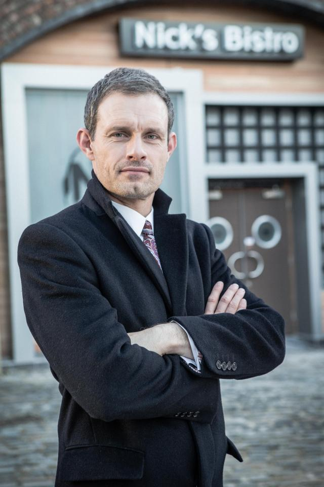Nick Tilsley was last in Coronation Street in 2017