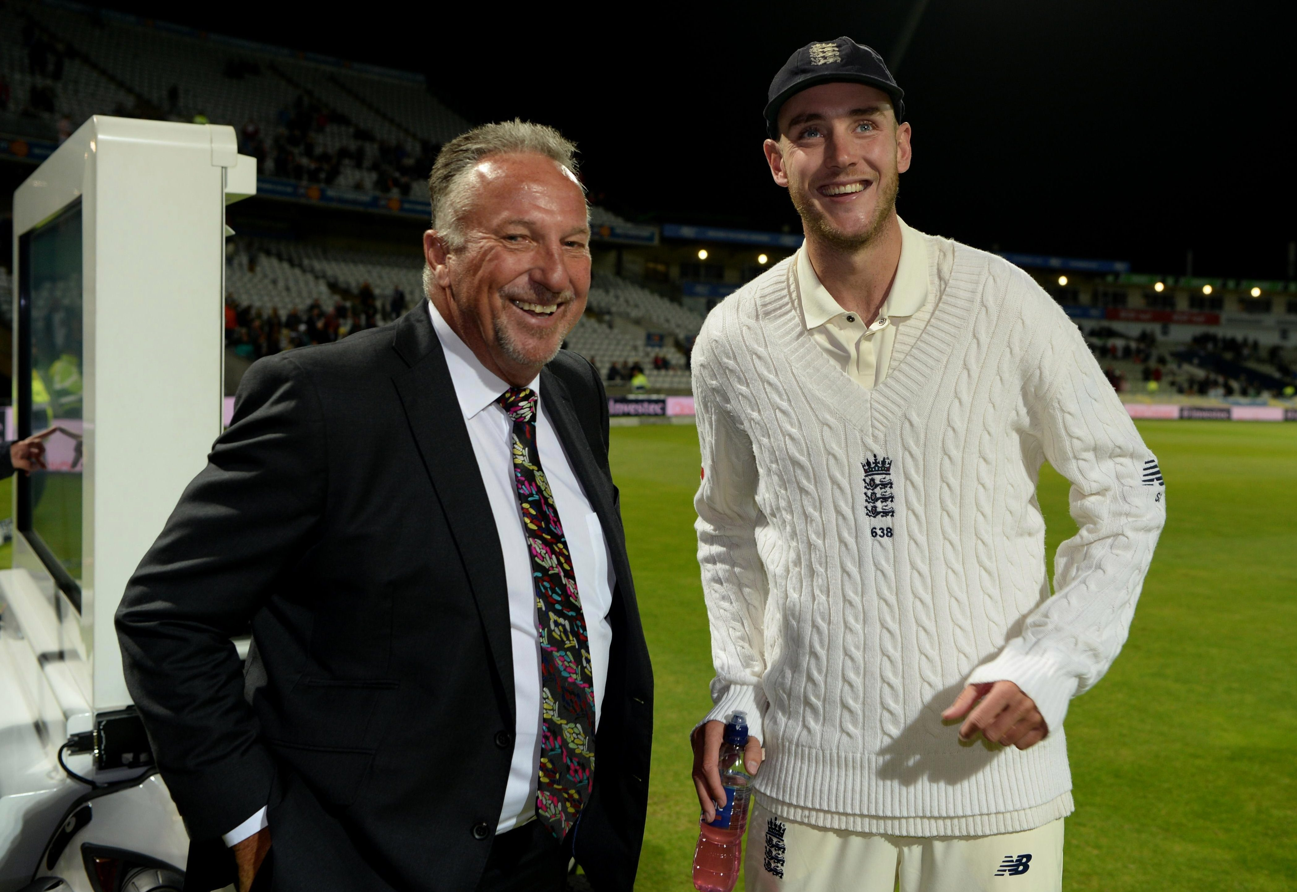 Stuart Broad is second on the list of England Test wicket takers ahead of Ian Botham but is over 100 behind Anderson