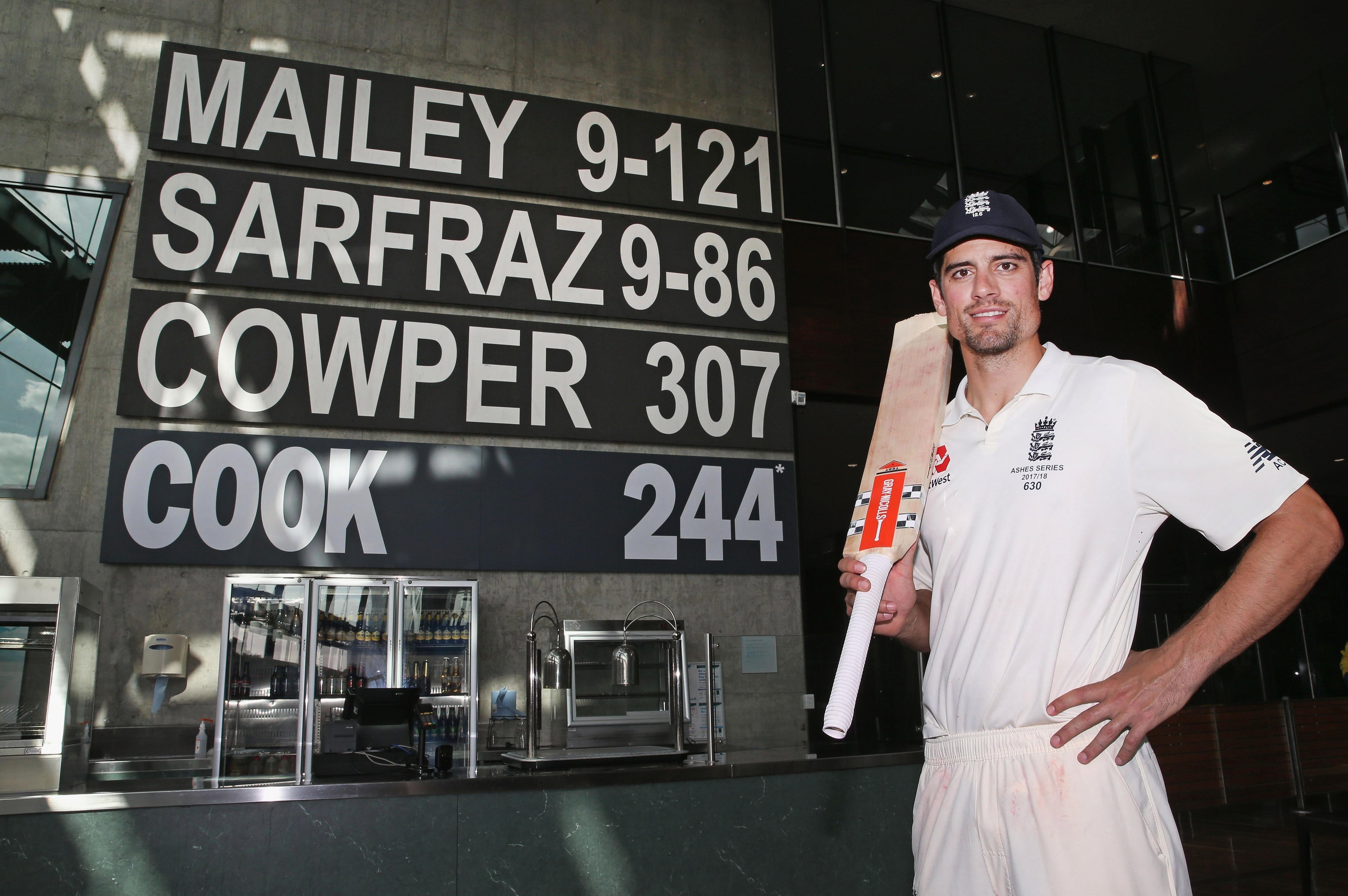Alastair Cook will retire as one of England's all-time best-ever