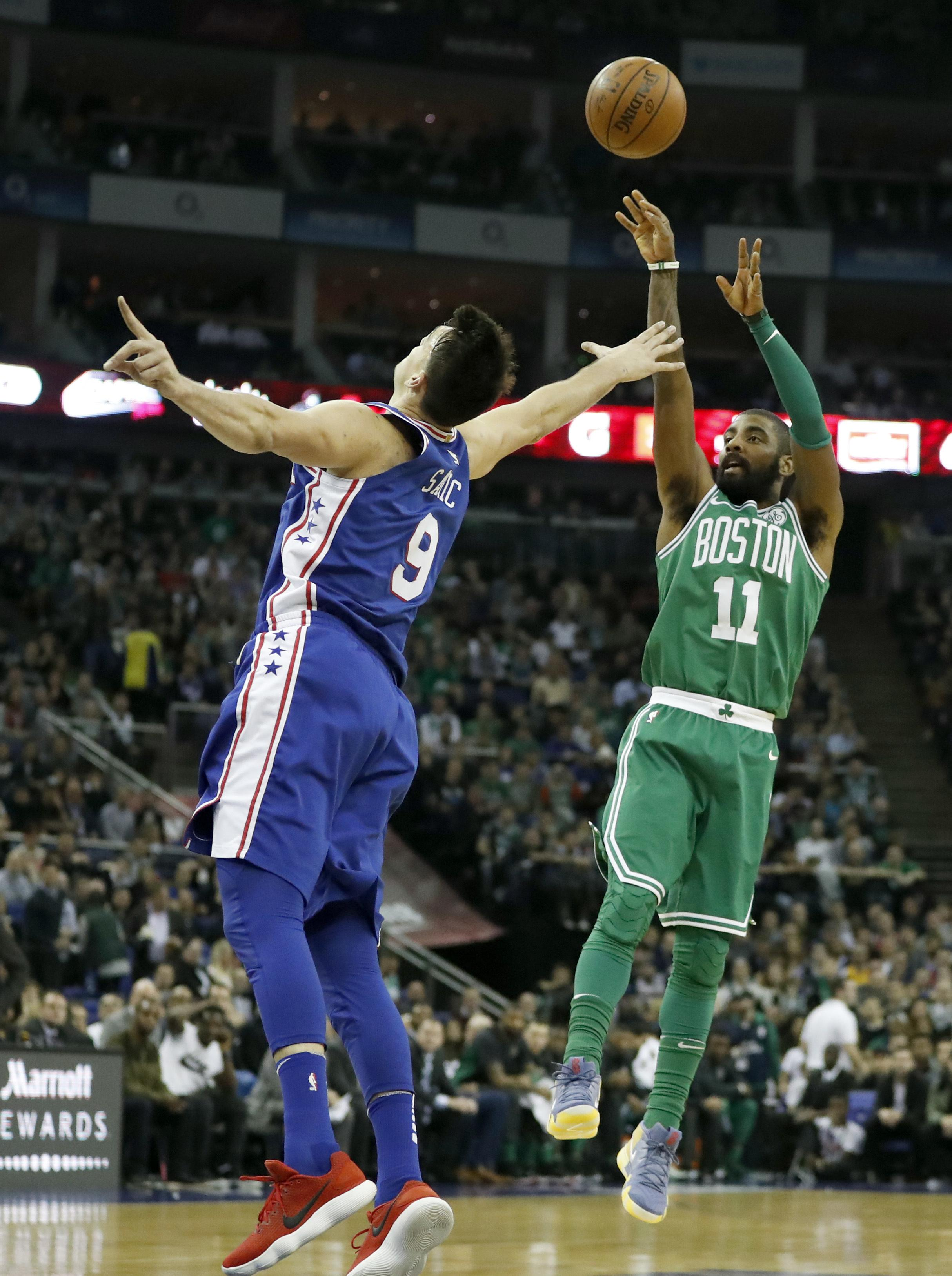 The Boston Celtics are expected to be stronger this season after star men Kyrie Irving, right, and Gordon Hayward returned from injury