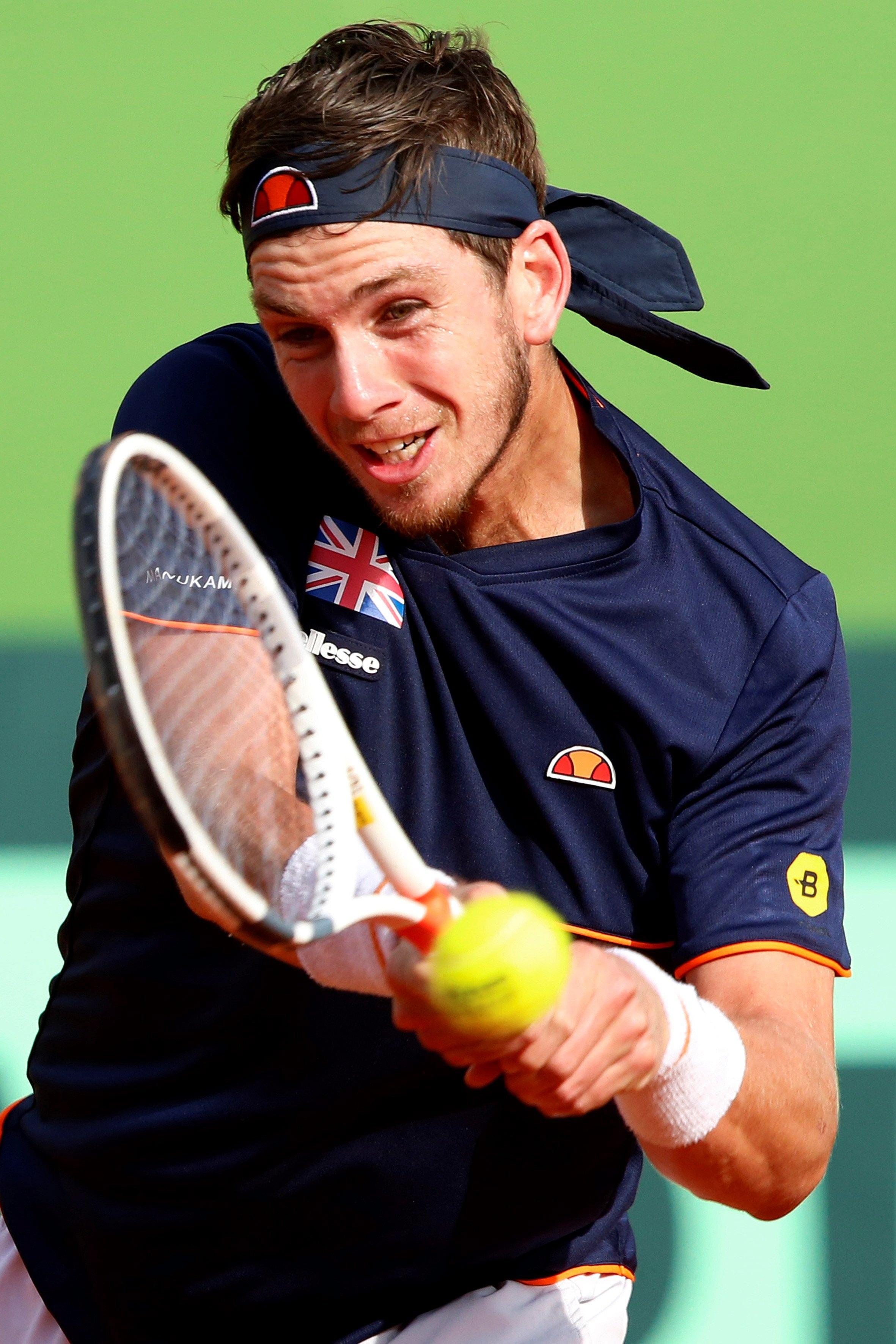 Cameron Norrie lost his second singles rubber to Albert Ramos Vinolas to seal Great Britain's defeat to Spain in the World Group first round in February