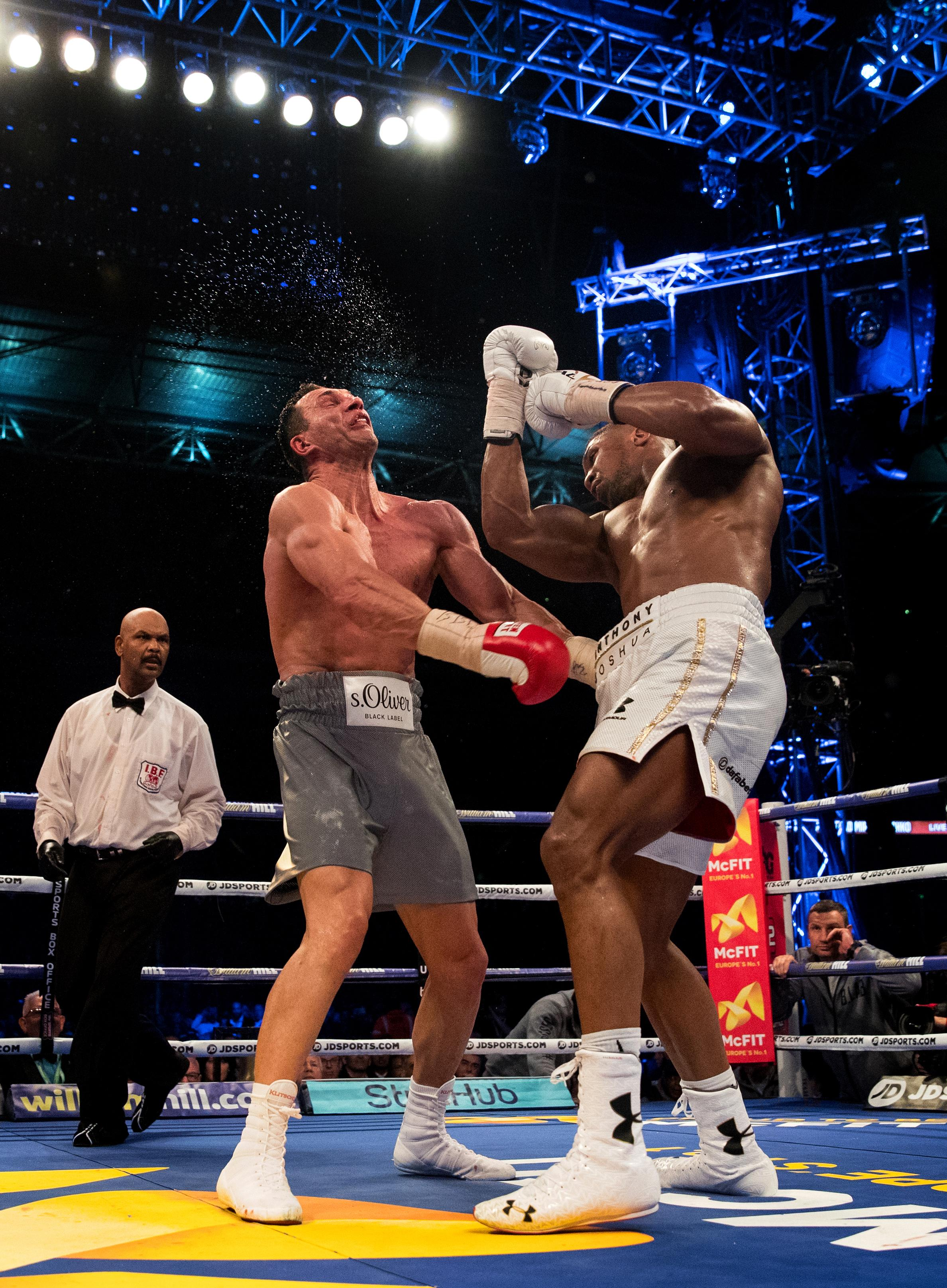 AJ was on top of the world and the heavyweight division after beating Wladimir Klitschko, but that night in 2017 is long behind him now