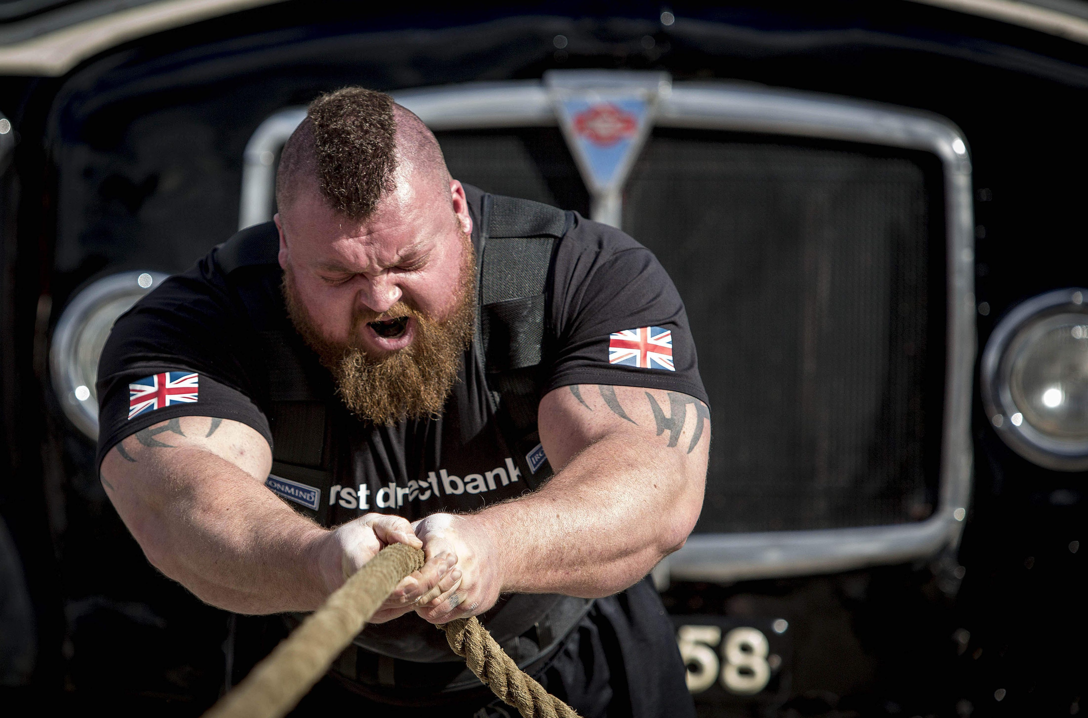 Eddie Hall is the only person to ever deadlift 500kg
