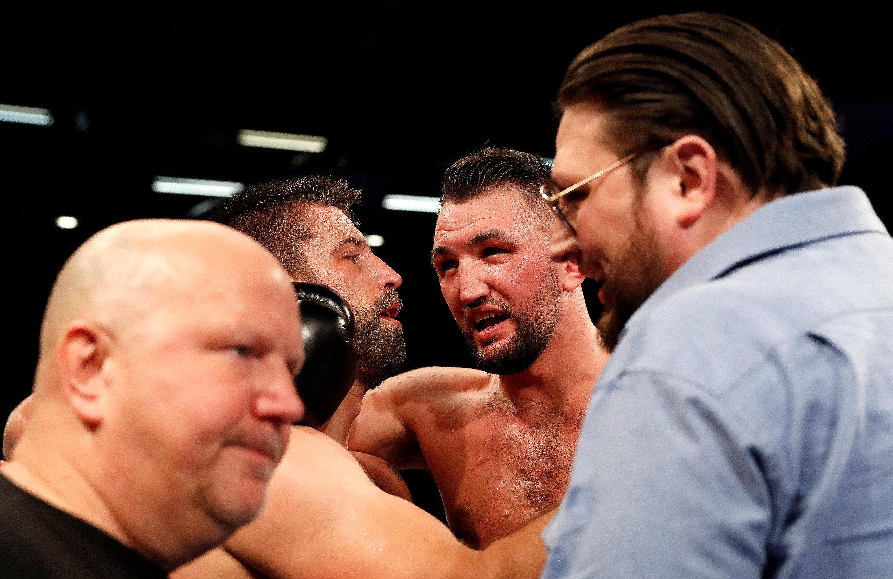 Hughie Fury smashed Sam Sexton to win the British title last time out - could he secure what would be a huge upset by beating AJ too?