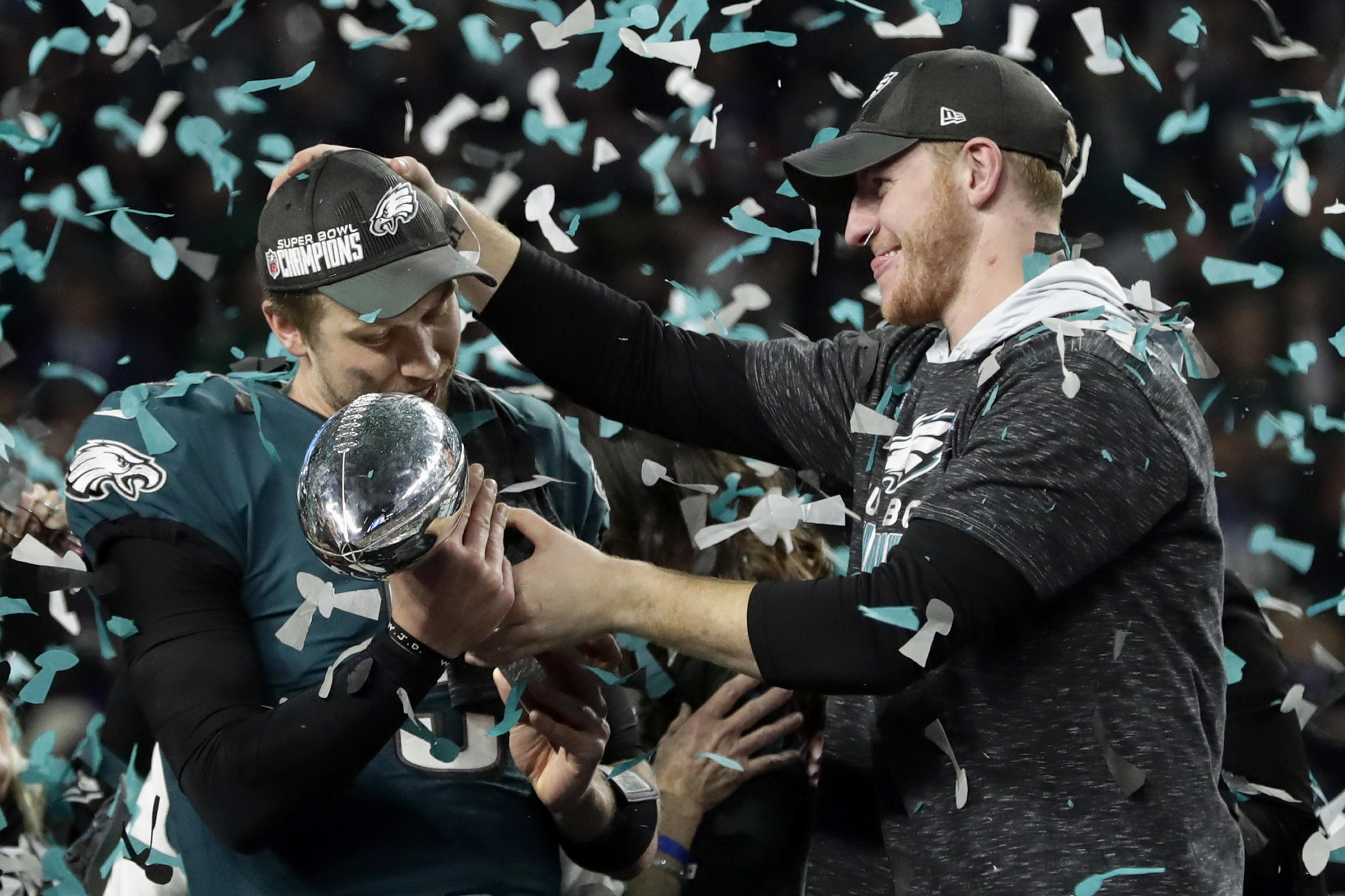 Philadelphia Eagles sprung what was seen as a big shock to win Super Bowl 52