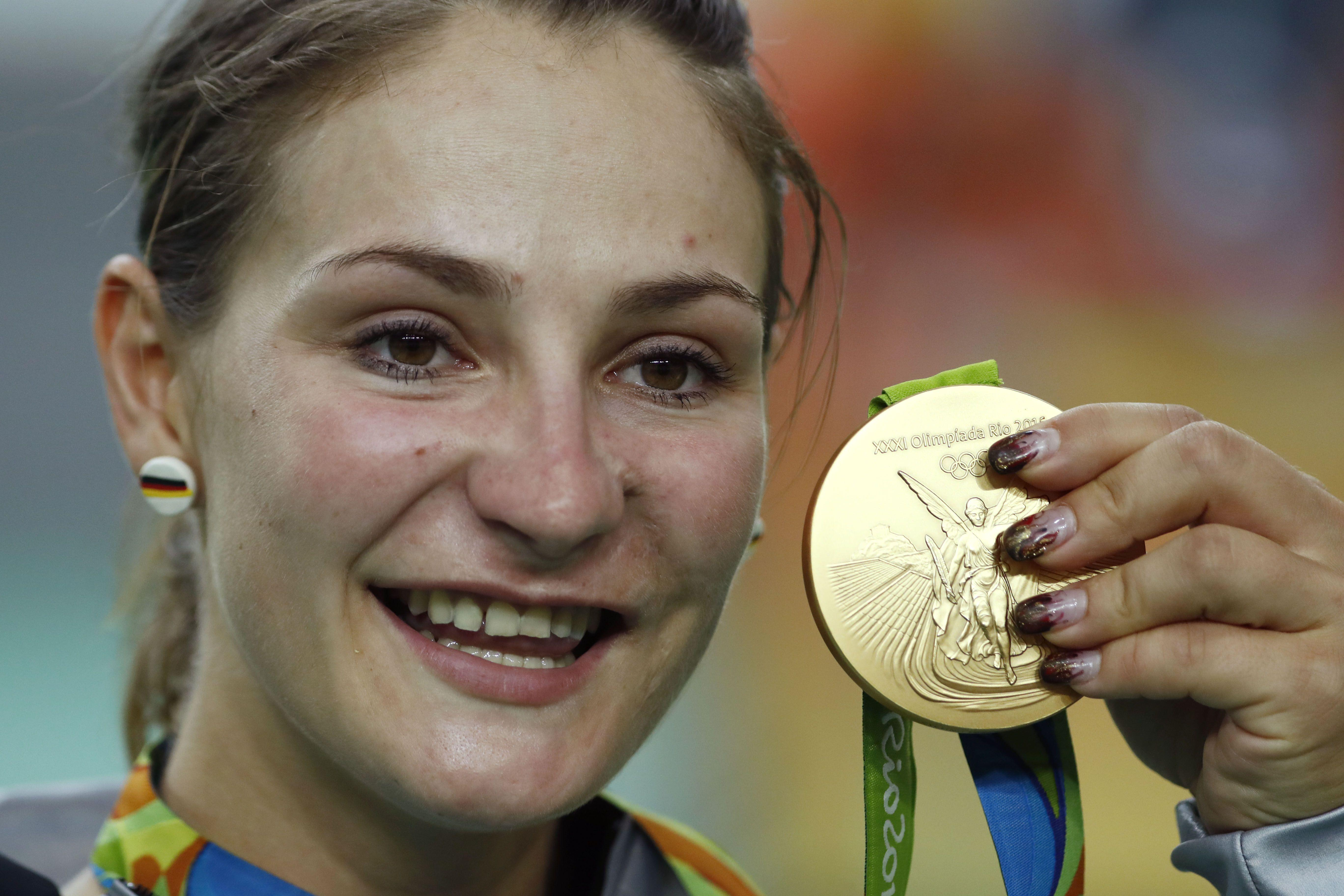 Vogel claimed Olympic gold medals at London 2012 and Rio 2016