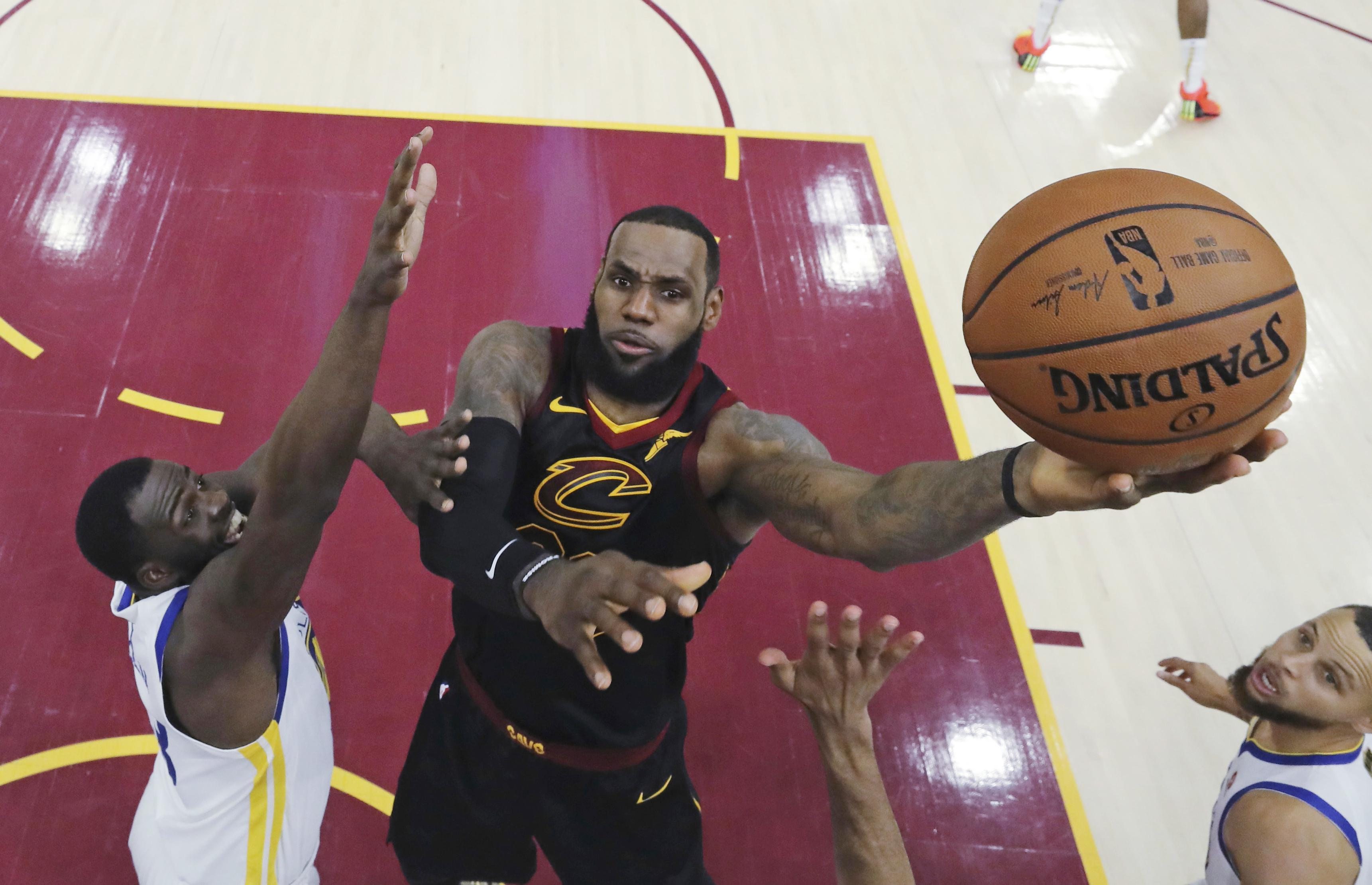 LeBron James helped the Cleveland Cavaliers to four consecutive NBA Finals before moving to LA Lakers during the off-season