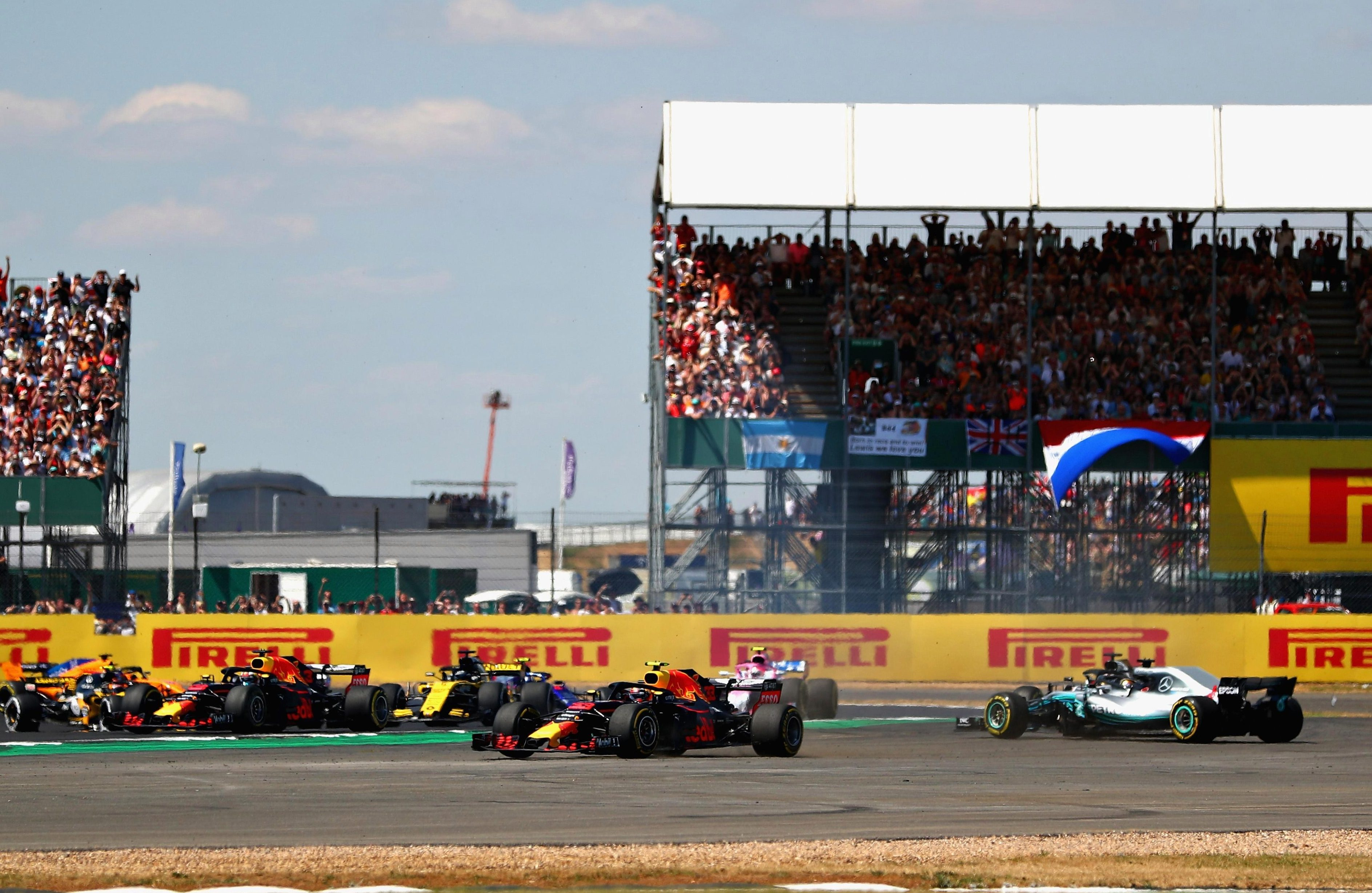Sky have agreed a content partnership with Channel 4 which will allow the race at Silverstone to be screened on terrestrial TV