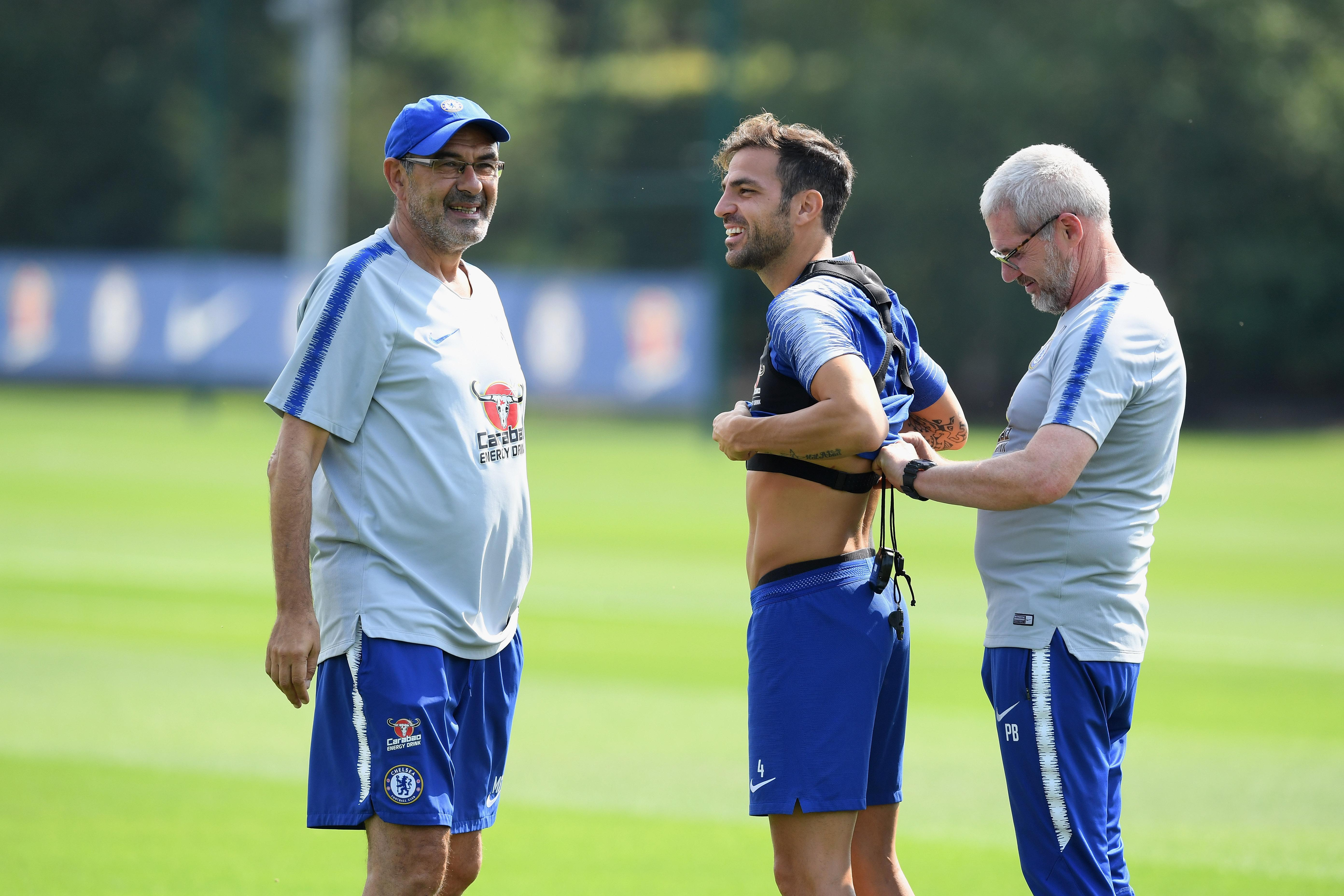 The midfielder has not played under new boss Maurizio Sarri because of injury