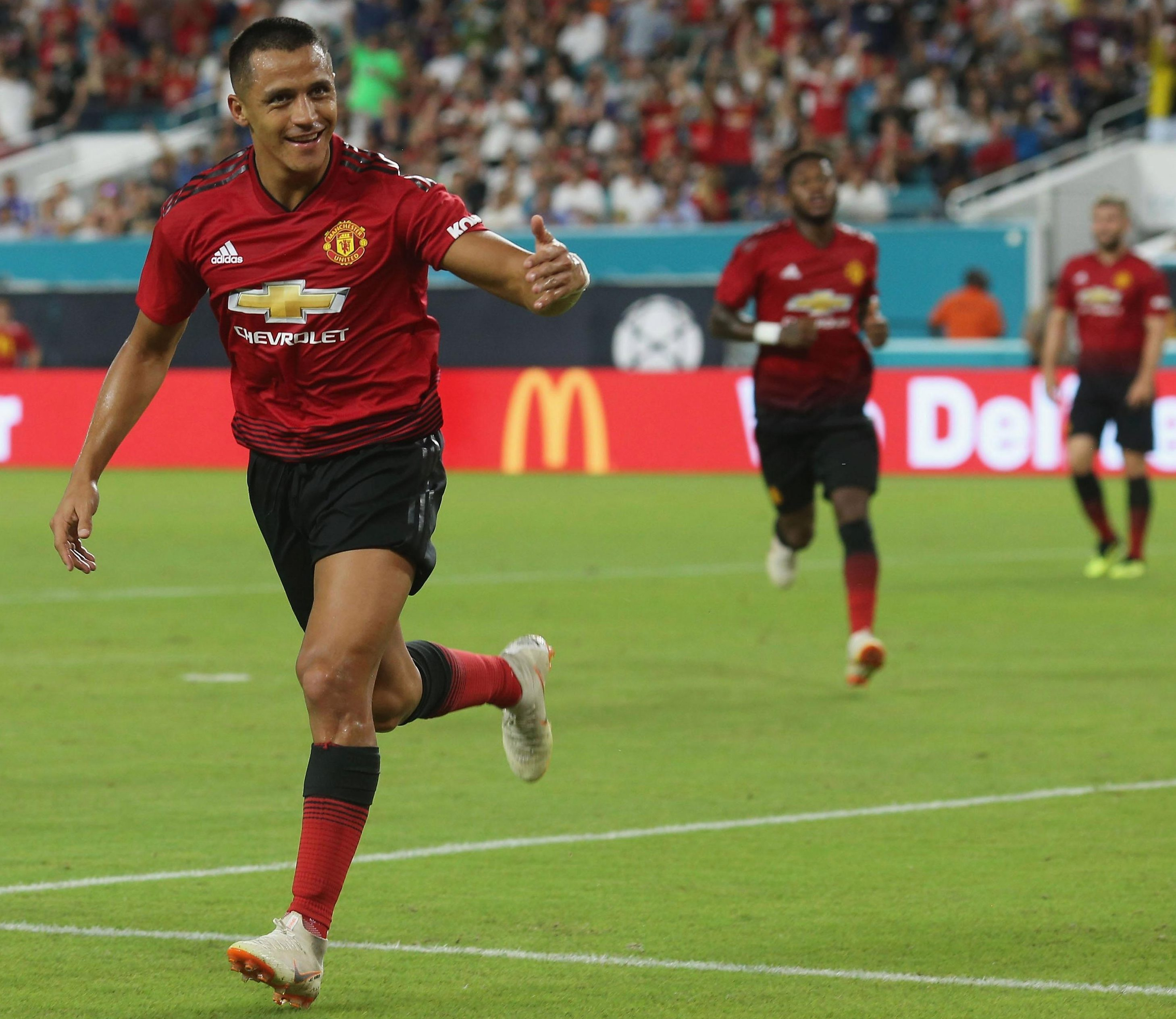 Alexis Sanchez earns around £26m a year in basic wages at Manchester United