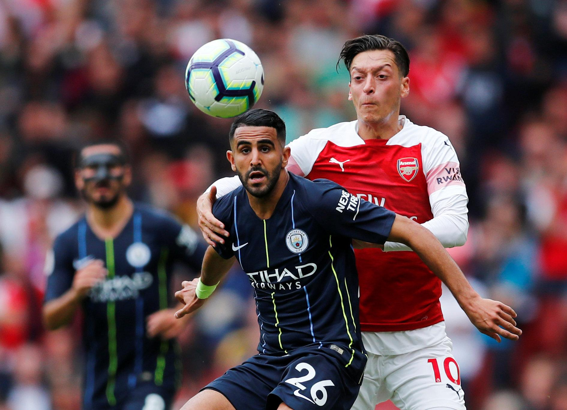 Riyad Mahrez is another player who would have been denied a work permit had Brexit already gone through