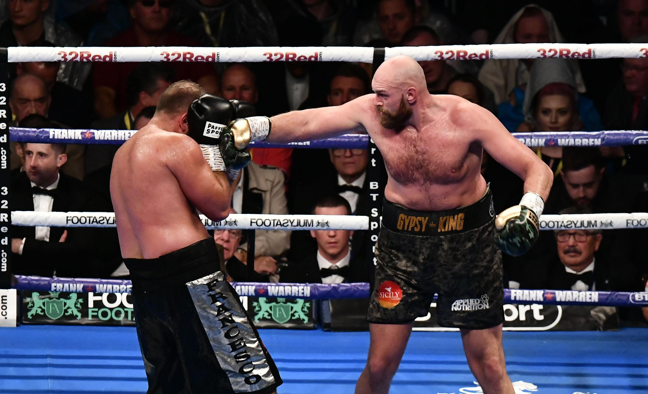 Fury has made his comeback in the ring after having three years out of the sport thanks to drug and mental health problems, and wants his titles back after beating Klitschko in Dusseldorf in 2015