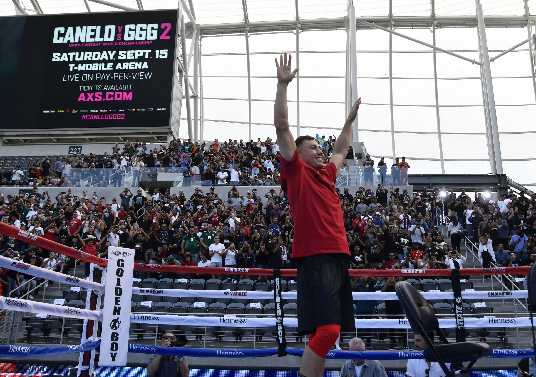 Gennady Golovkin takes on Canelo Alvarez in Las Vegas on September 15