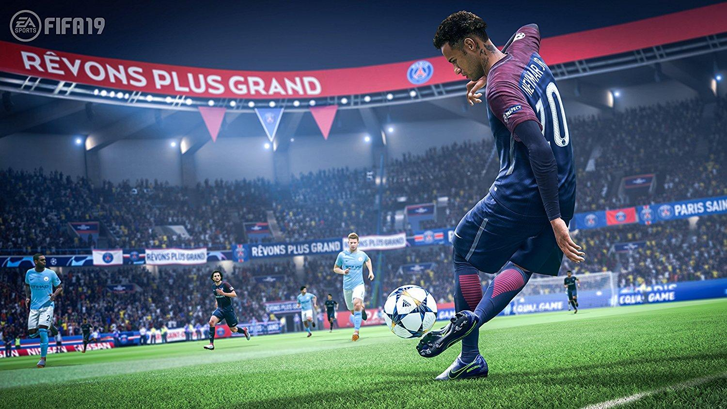 The PlayStation Store crashed as fans aimed to download the Fifa 19 demo