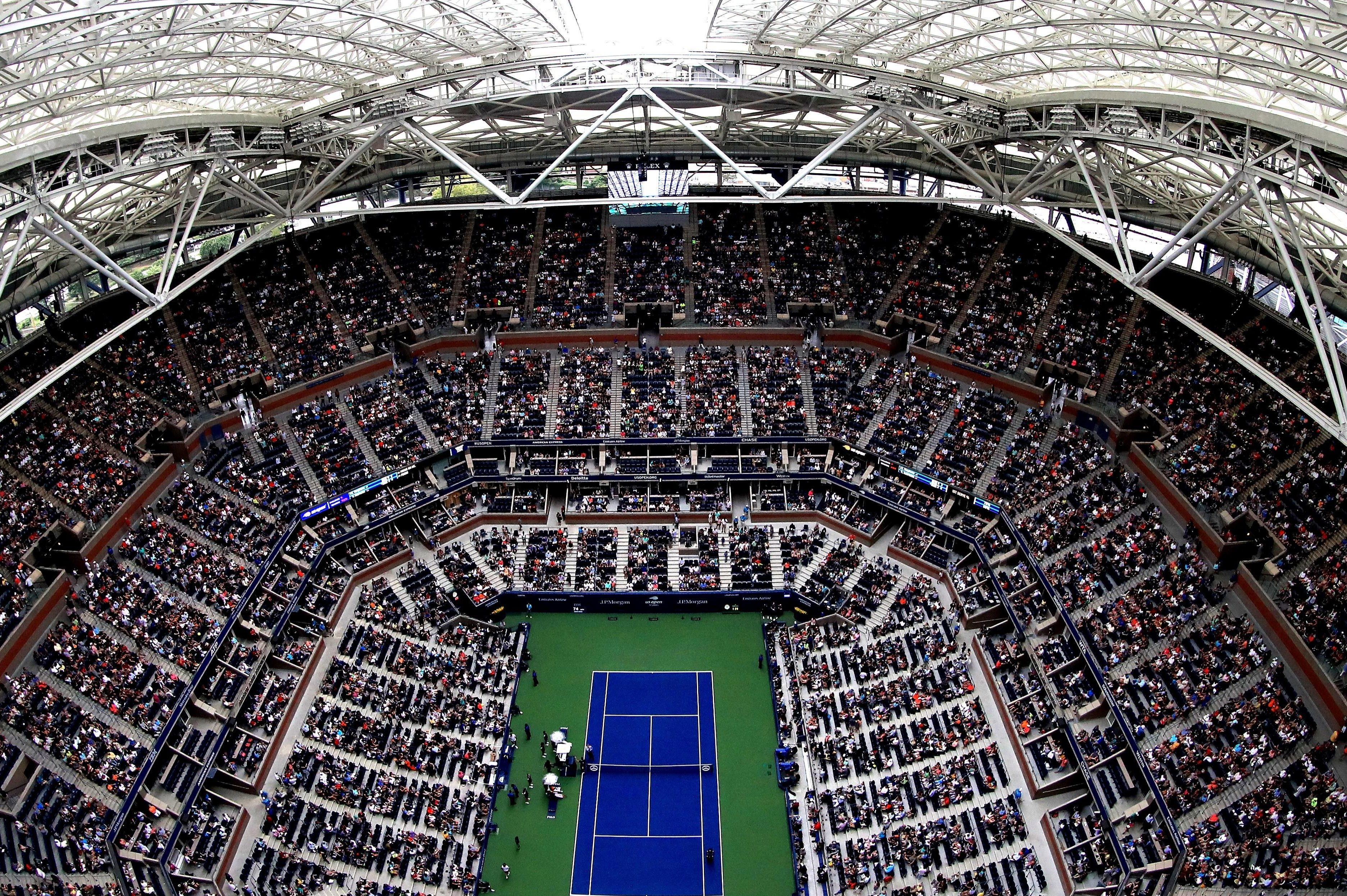 The Arthur Ashe Stadium is the largest tennis venue in the world