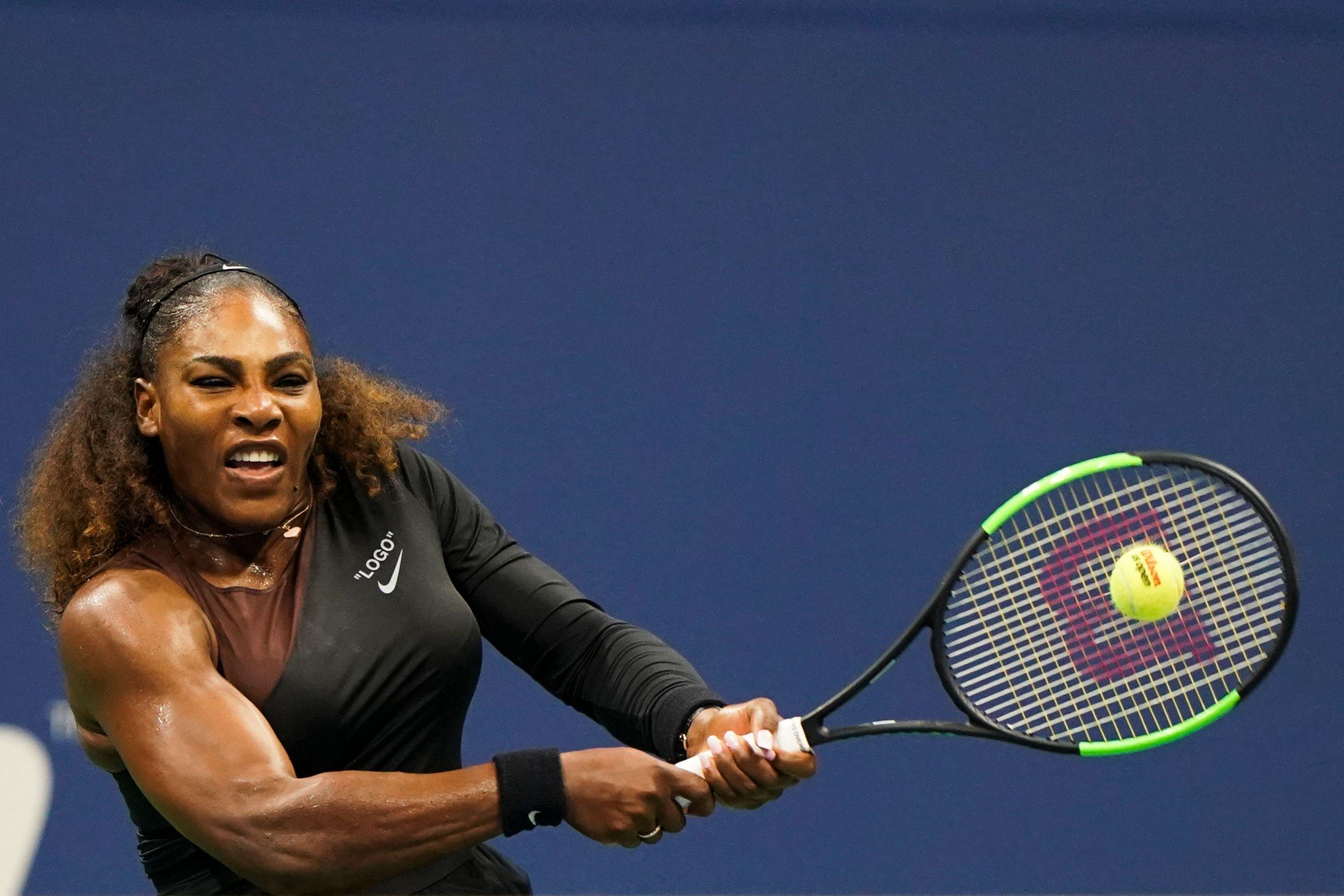 It was the 23-time Grand Slam champ's most complete performance since returning after the birth of her daughter