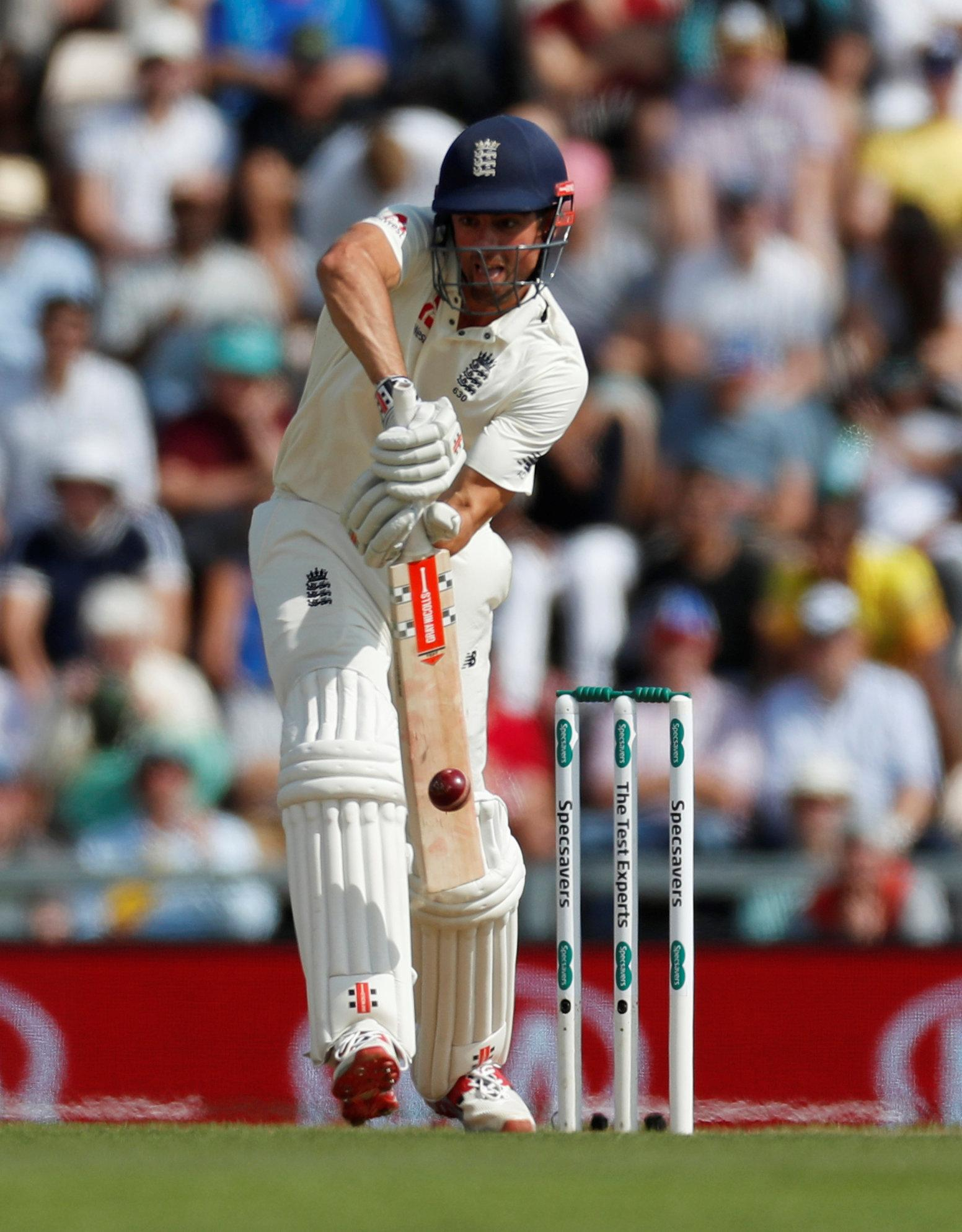 Alastair Cook has endured a rocky series against India this summer
