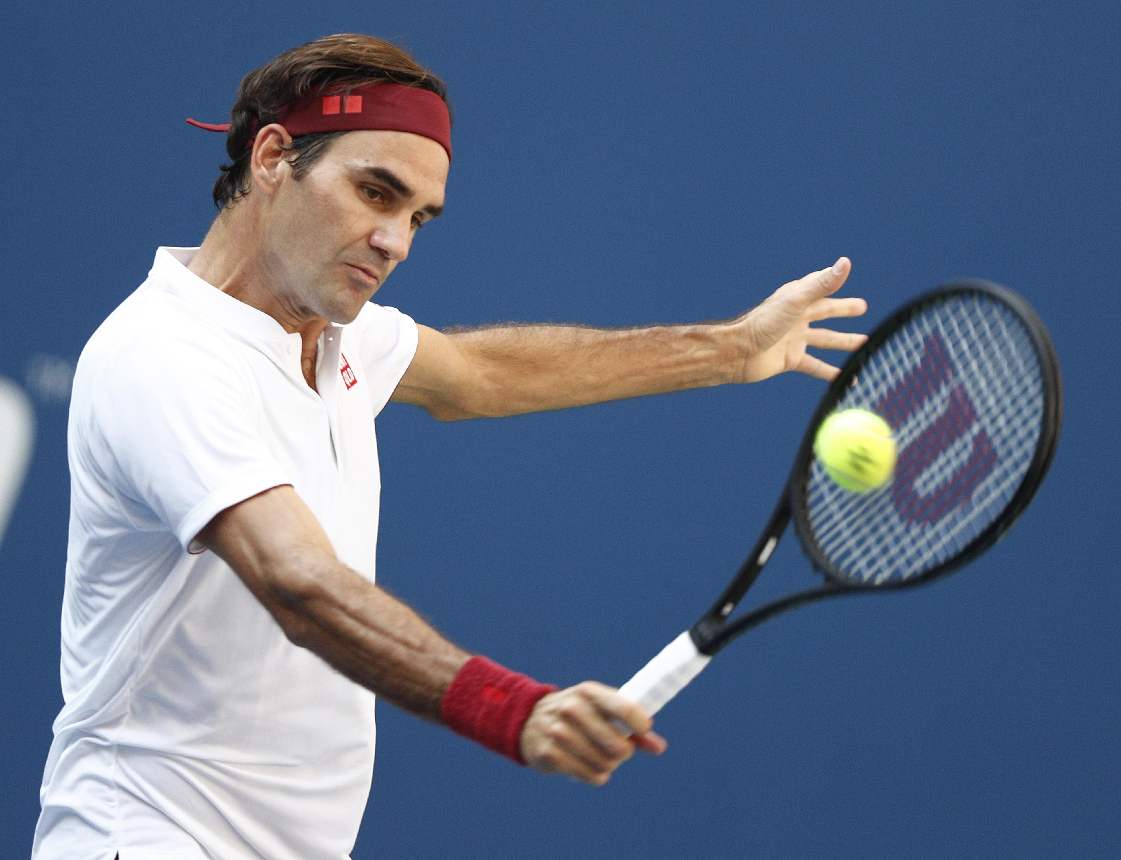 Federer hit an impressive 51 winners compared to Kyrgios 32 as he took the game to the 30th seed
