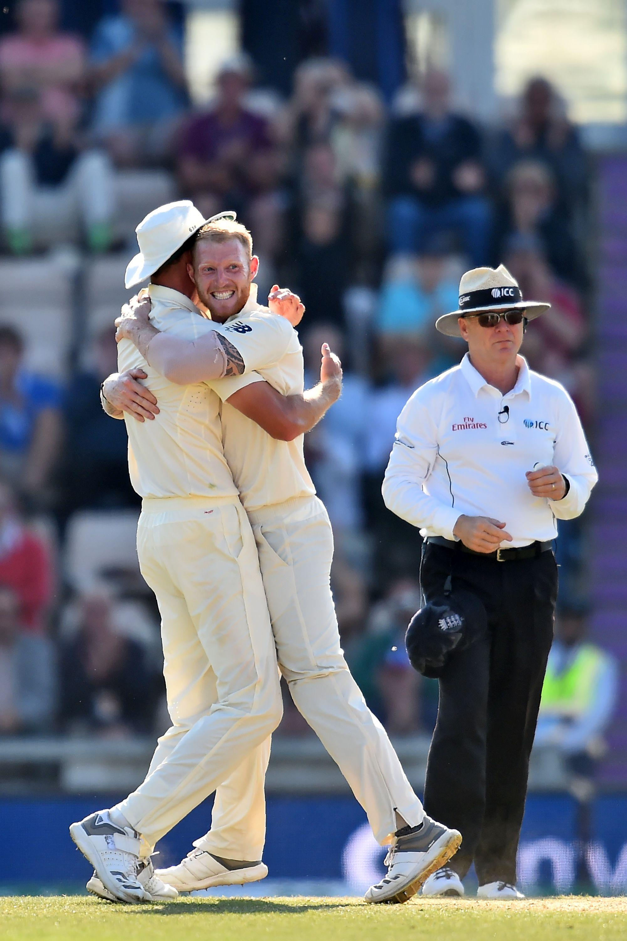 England enjoyed a superb evening session at the Ageas Bowl to clinch the series