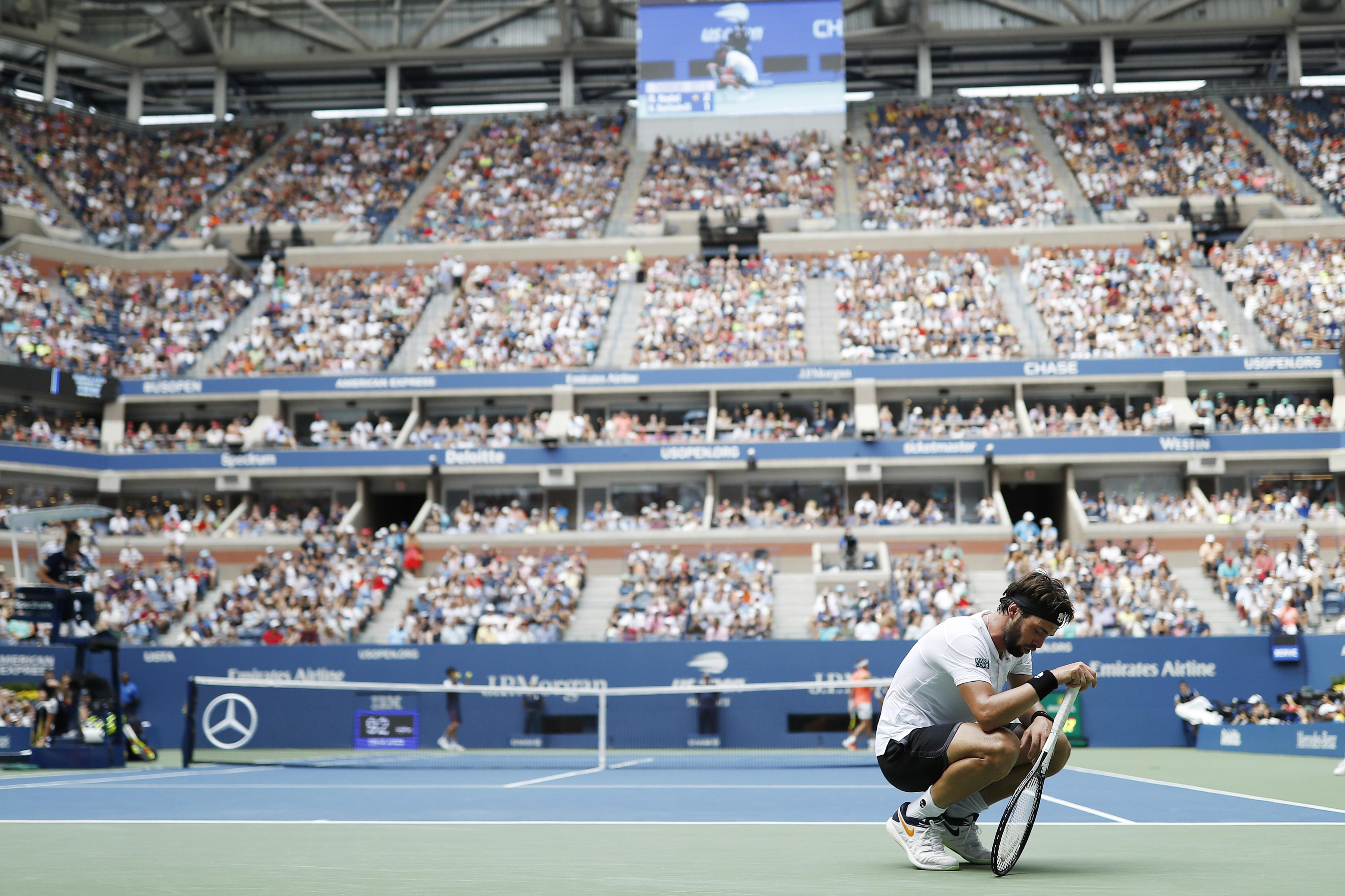 Basilashvili could not deal with the consistency, power and defence of the No1 seed in New York