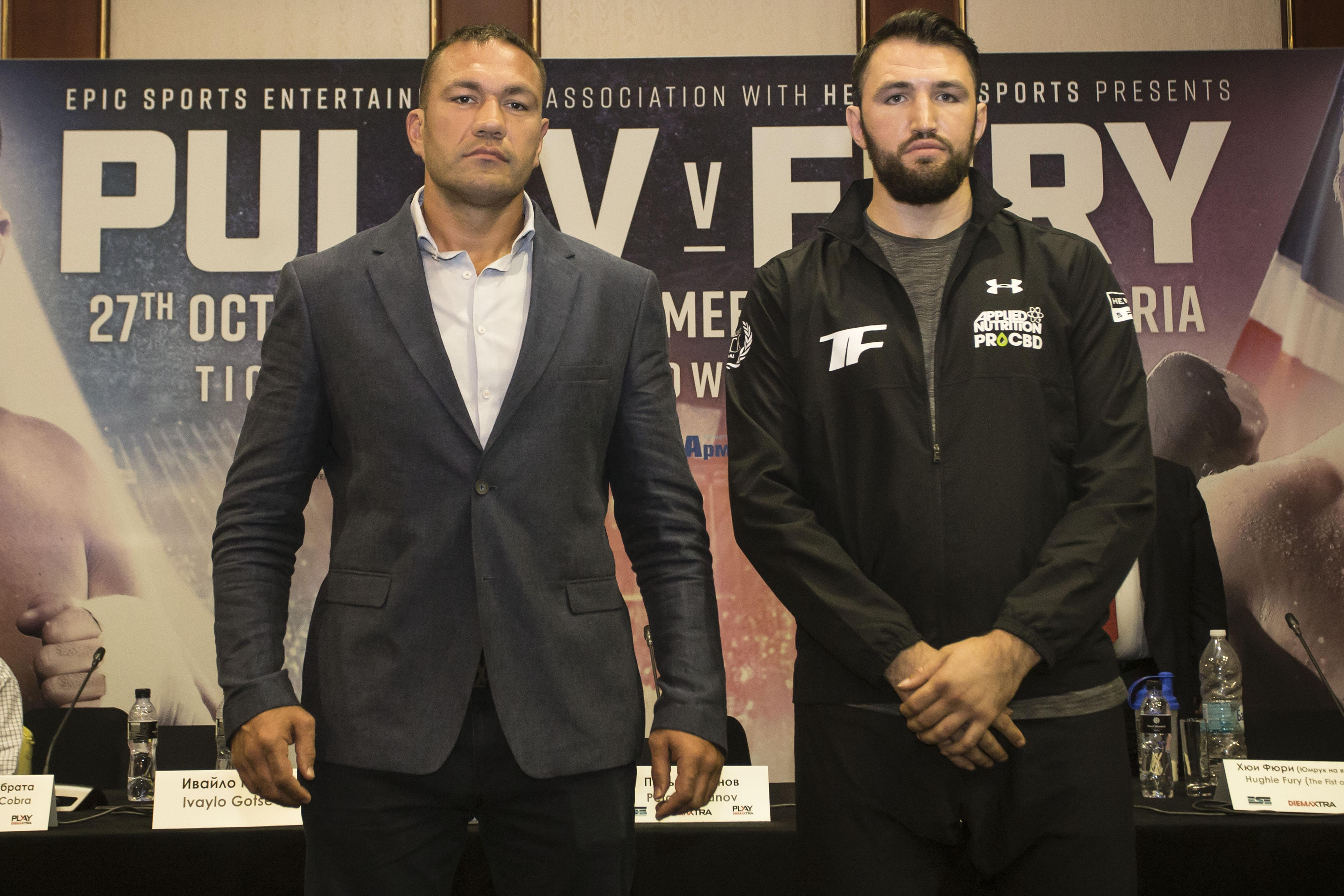 Kubrat Pulev has lured Hughie Fury to Bulgaria for a fight