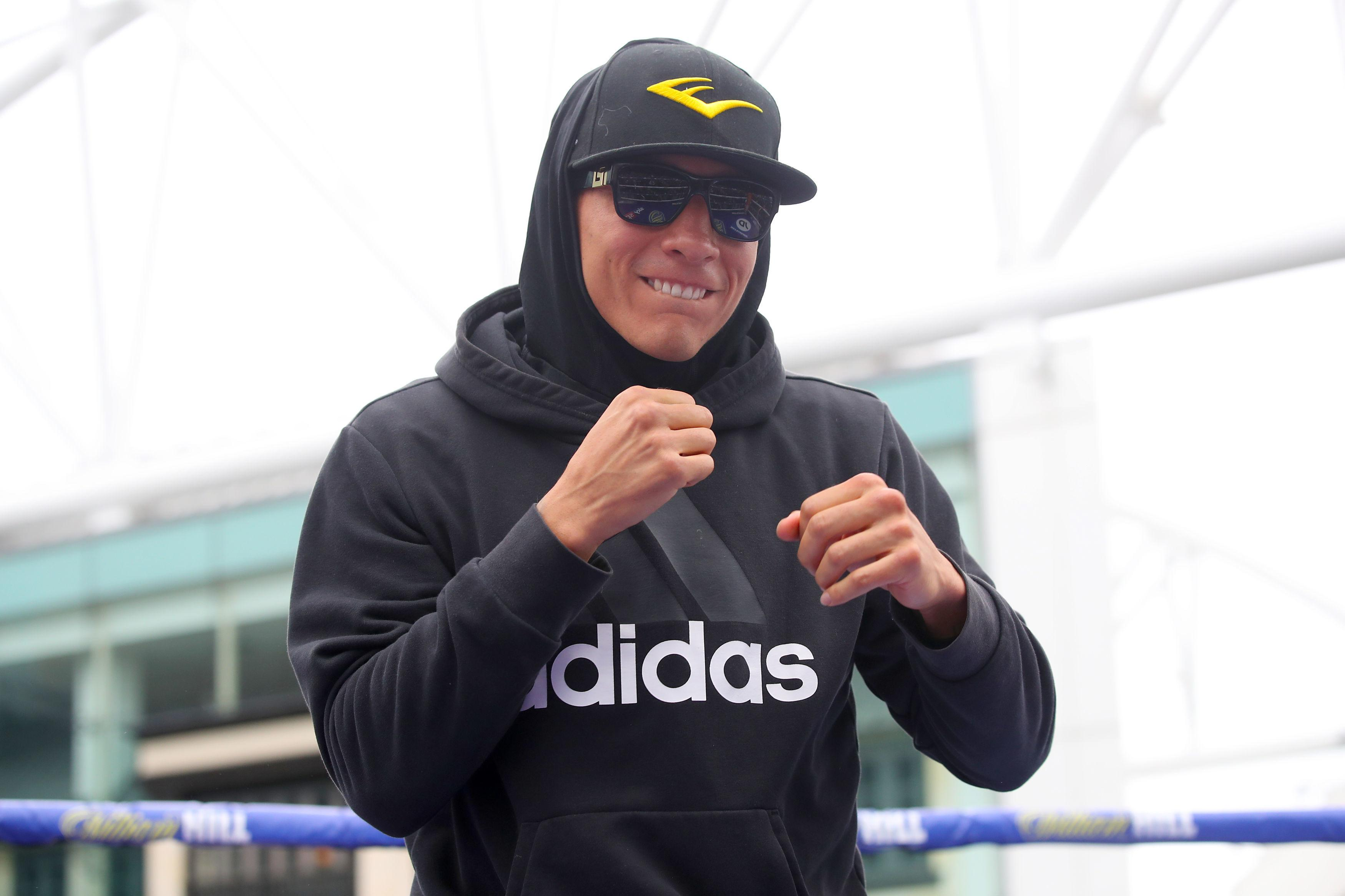 Vargas is confident of heading back over the Atlantic with a win