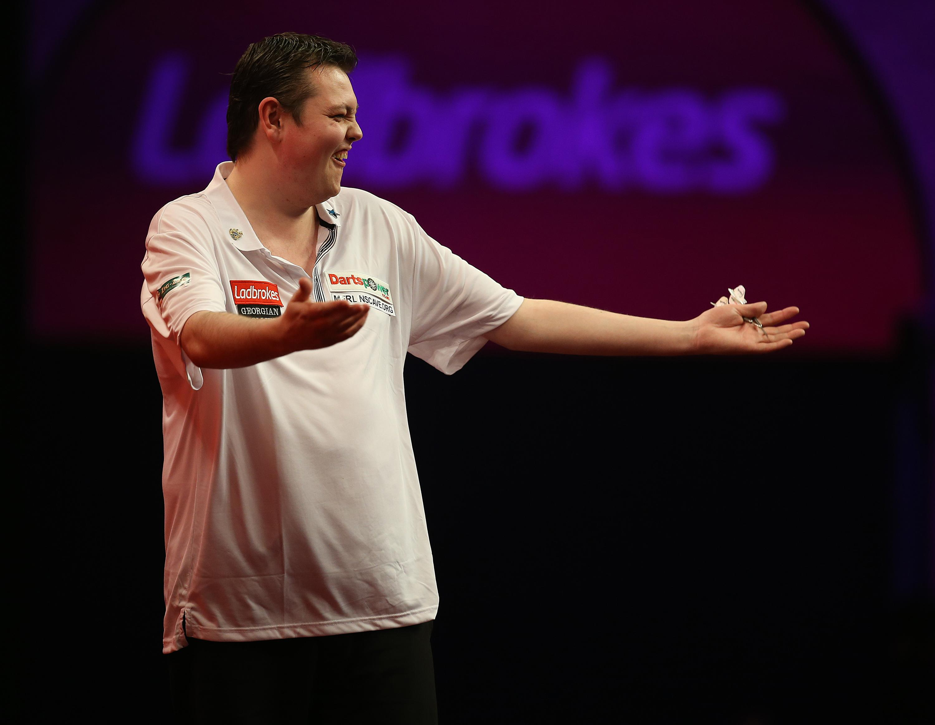 McDine will next be able to play darts in November 2019