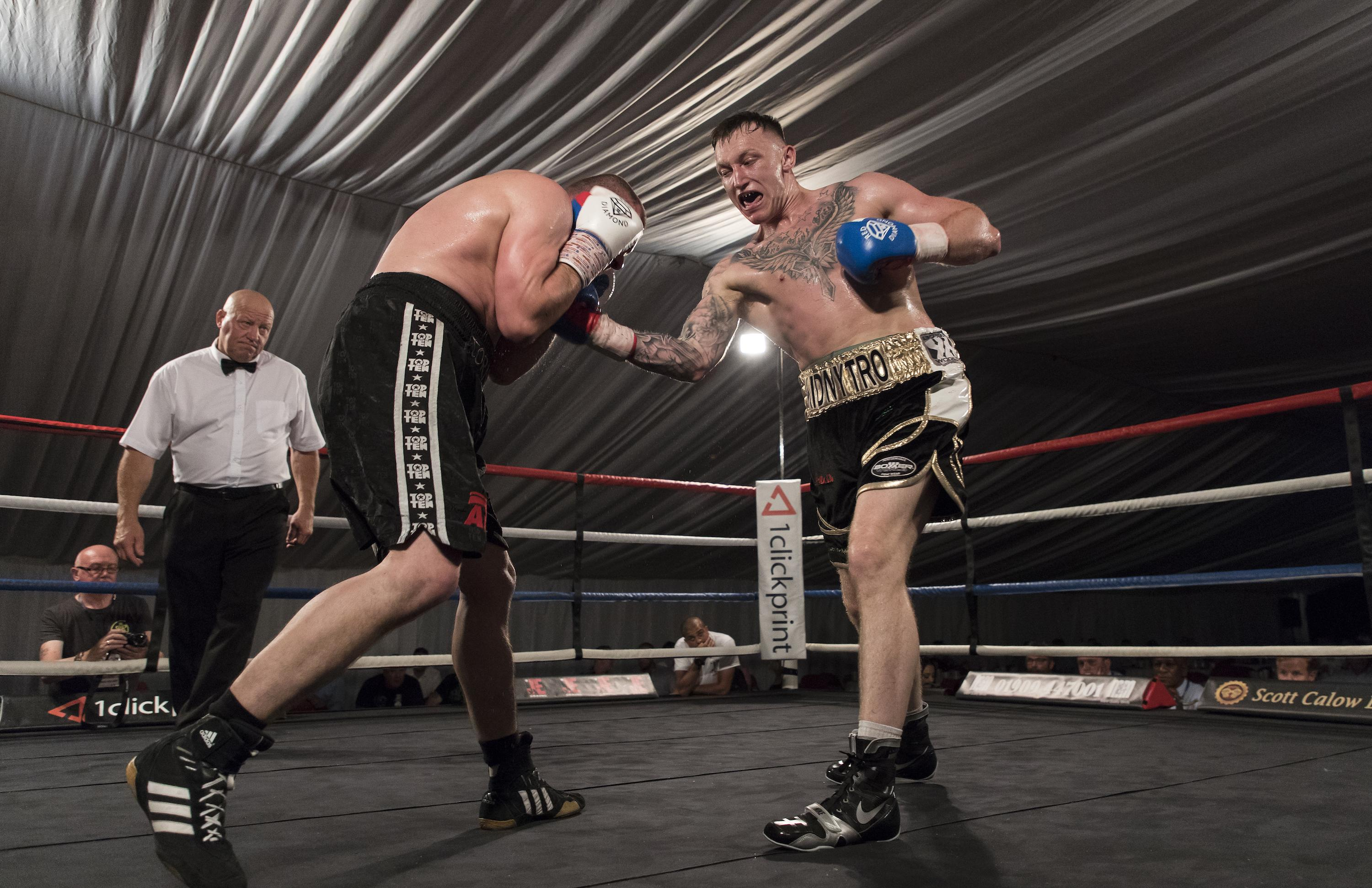 Dec Spelman has returned to the ring to fight on for the Westgarth family
