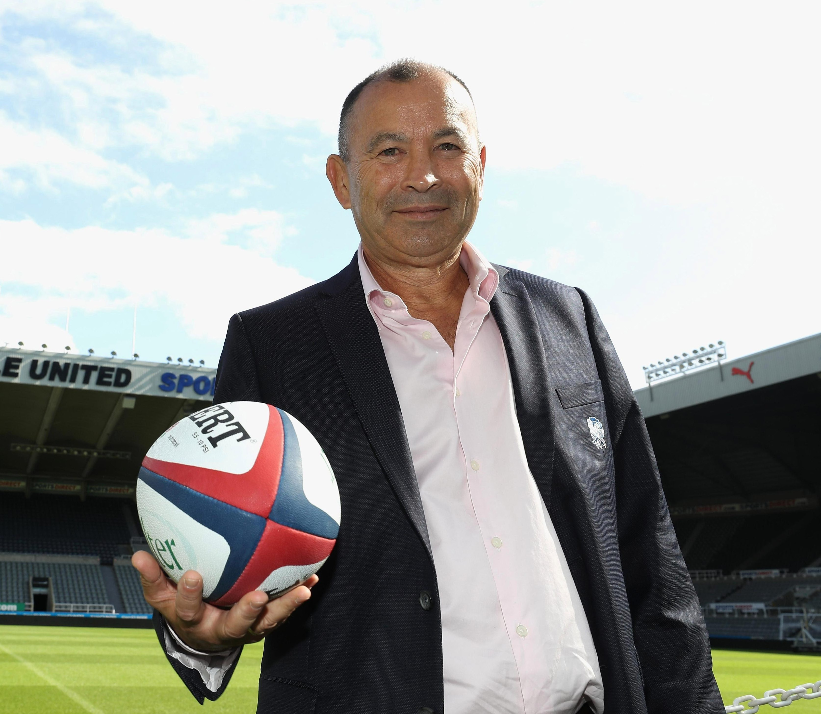 Eddie Jones wants his England players to learn Japanese
