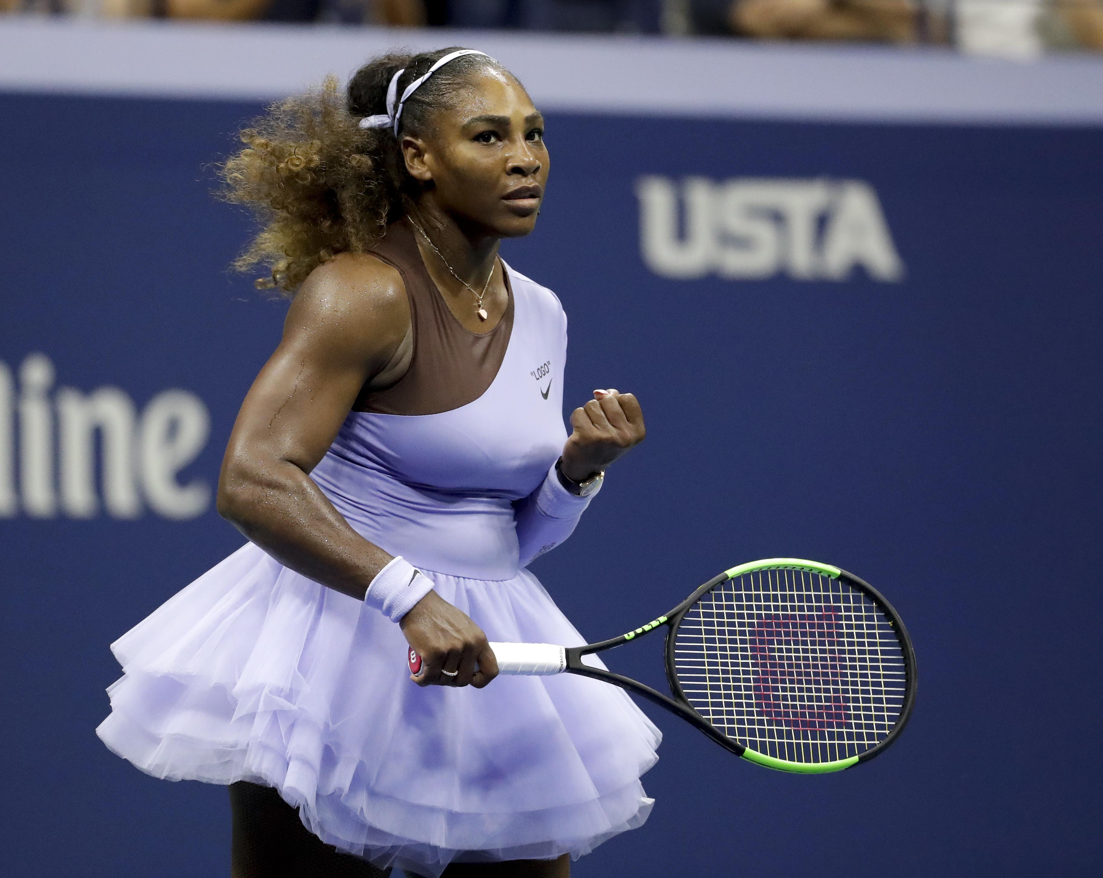 Williams' opponent Osaka was just one when Serena won her first Grand Slam title back in 1999