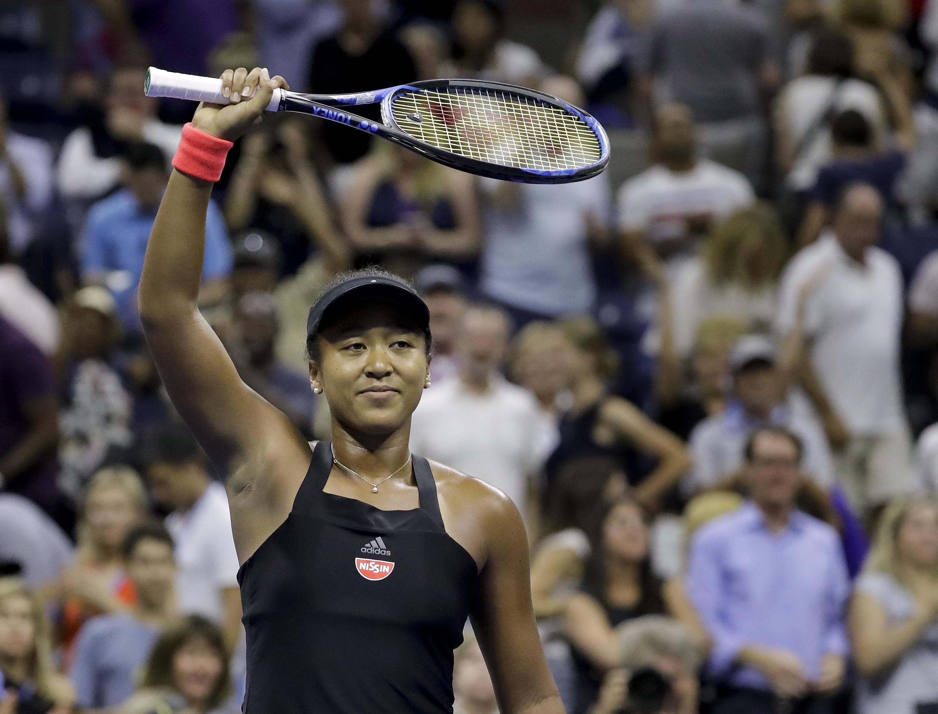 Naomi Osaka will take on Serena Williams at Flushing Meadows