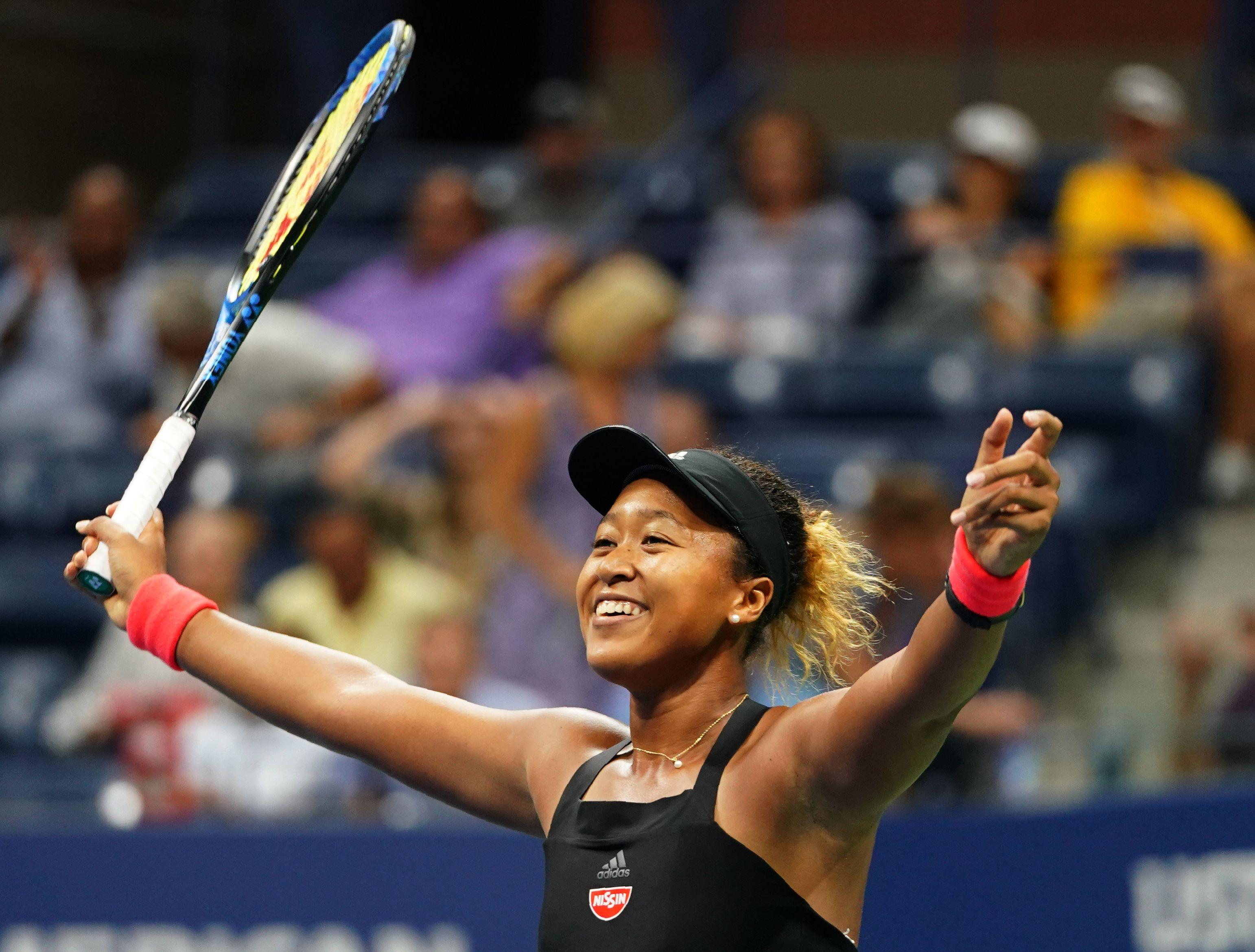 Naomi Osaka has reached her first Grand Slam final