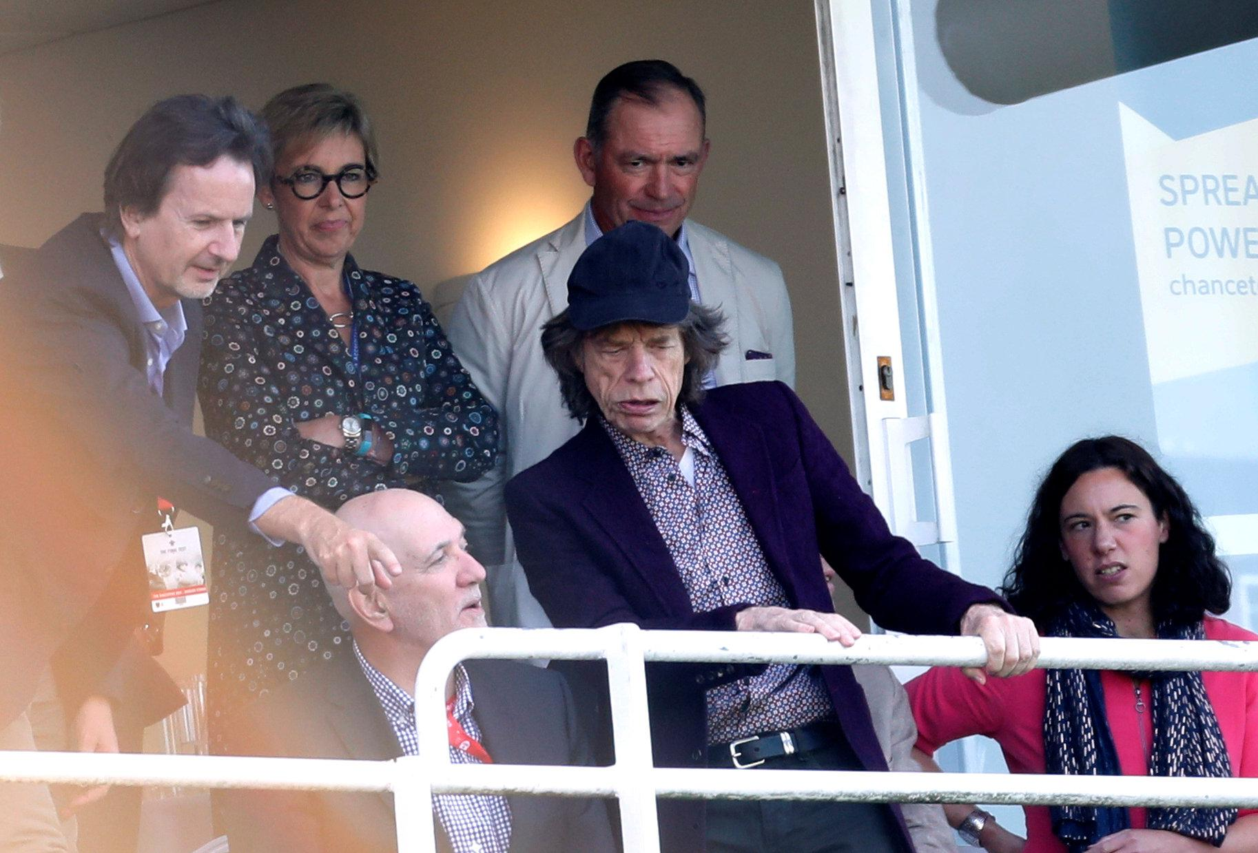 The impressive knock means Mick Jagger will now give over £100,000 to charity