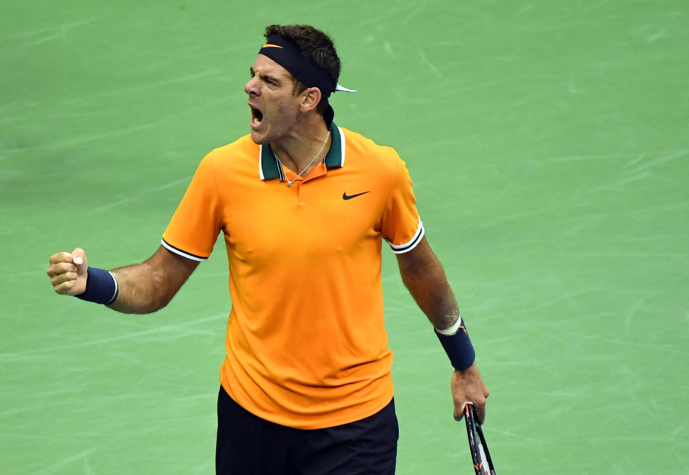 Del Potro went 2-0 up in sets and there was virtually no way back for Nadal