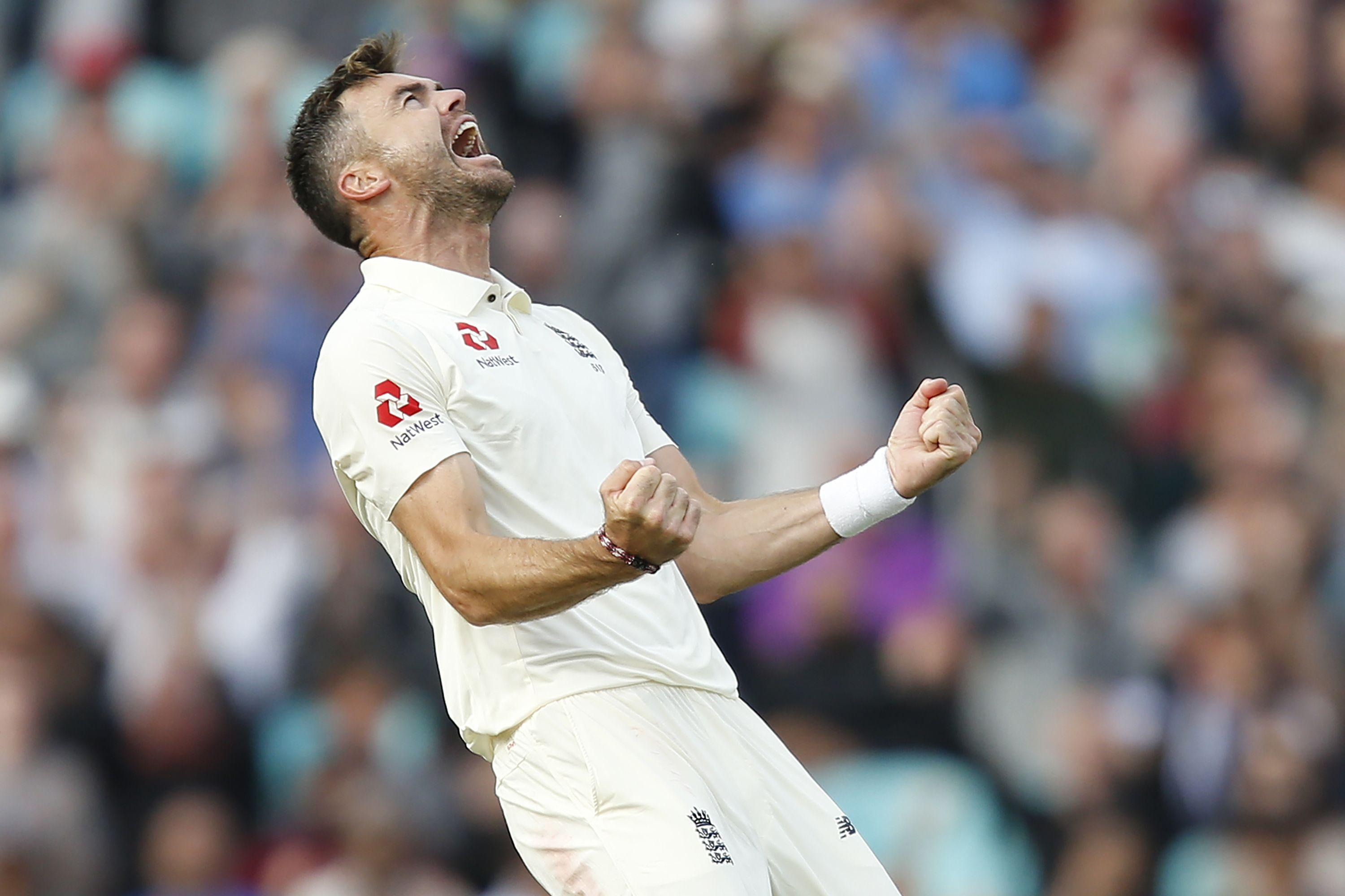 Anderson's two wickets took him to 561 in Test cricket, three away from overtaking Australia's Glenn McGrath.
