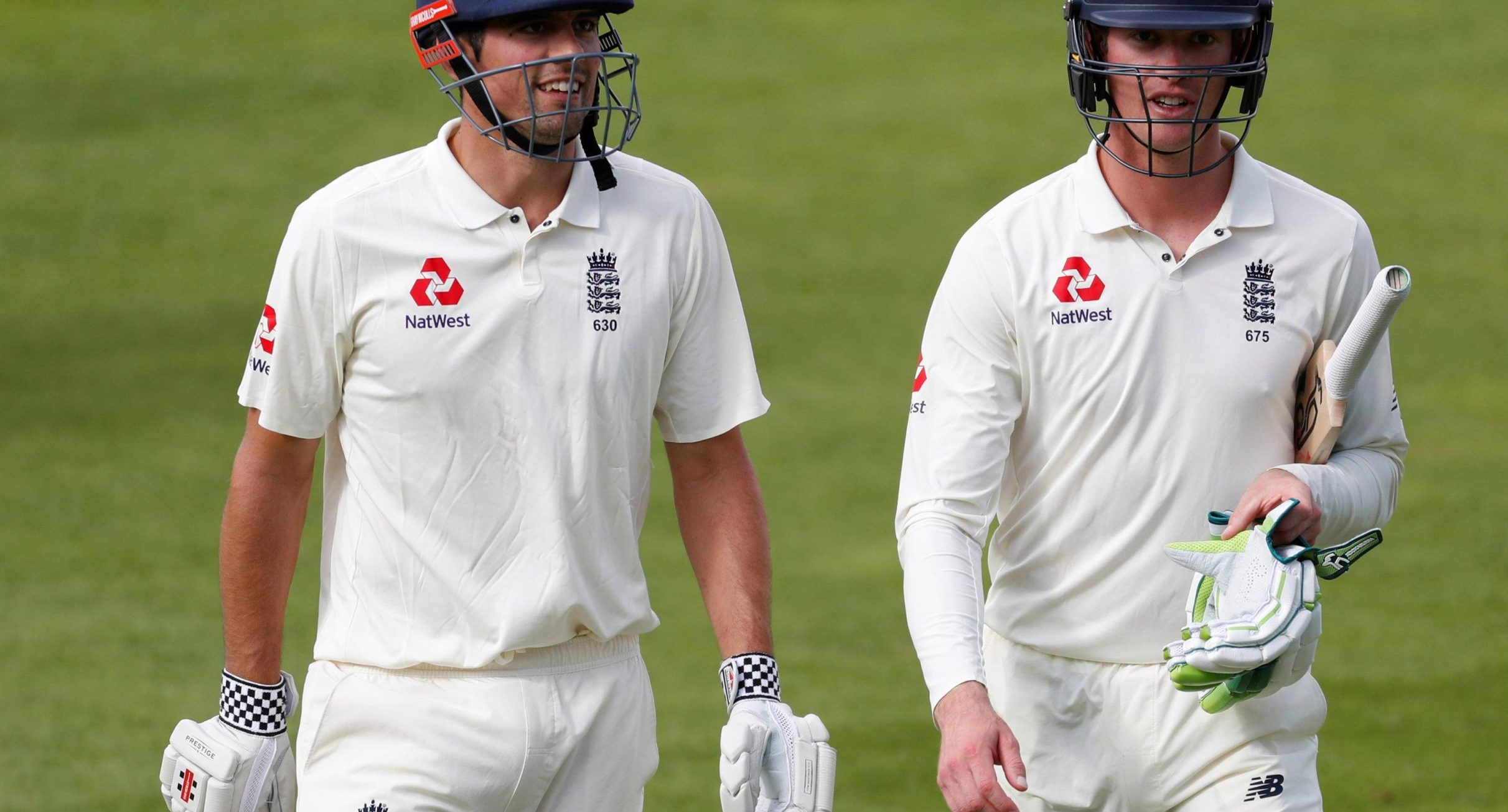On a big day for both Alastair Cook and Keaton Jennings, only one of the England openers stepped up to the mark