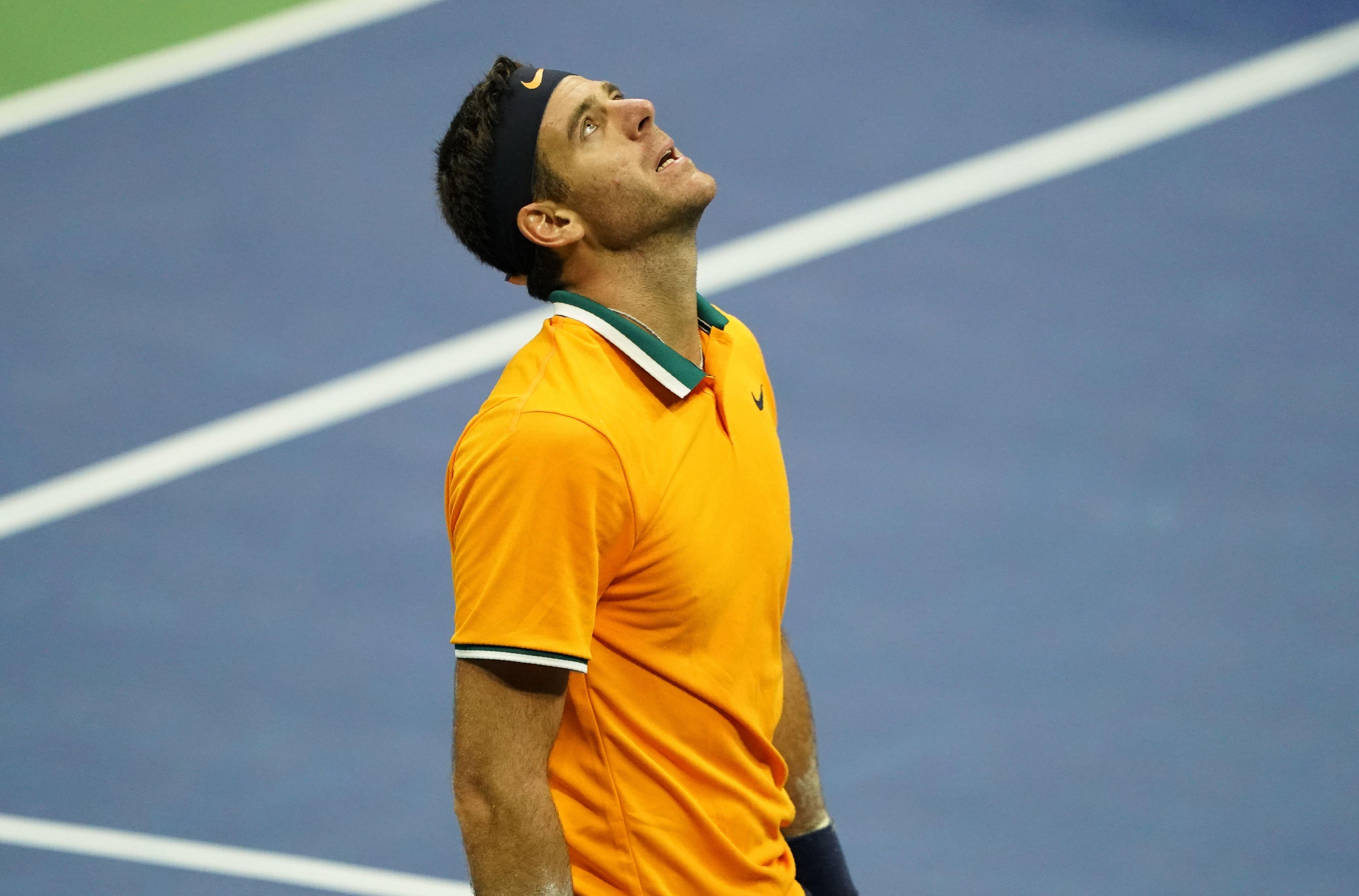 Novak Djokovic's happiness was Juan Martin del Potro's disappointment in New York