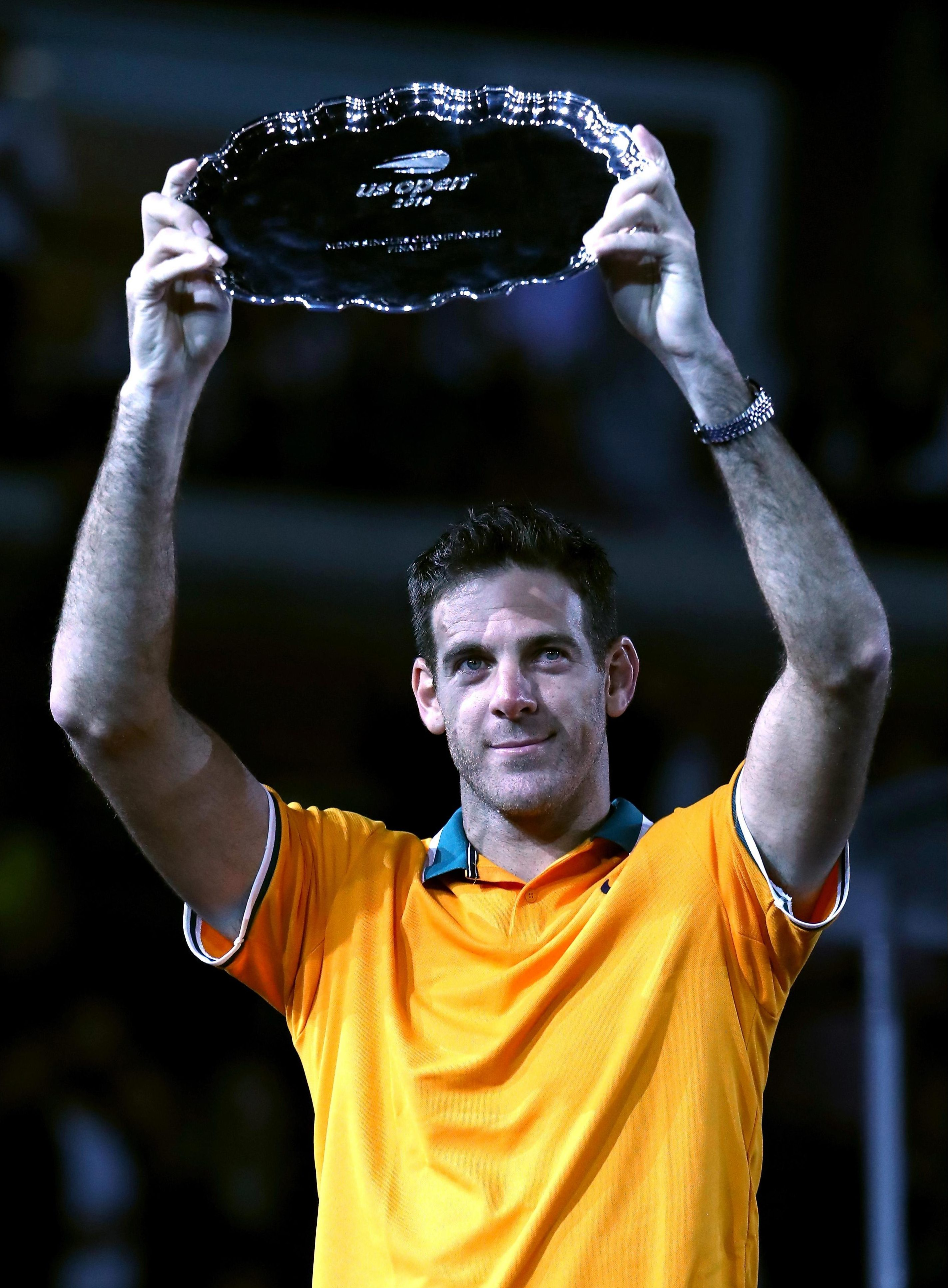 A teary Juan Martin del Potro came so close to winning the US Open