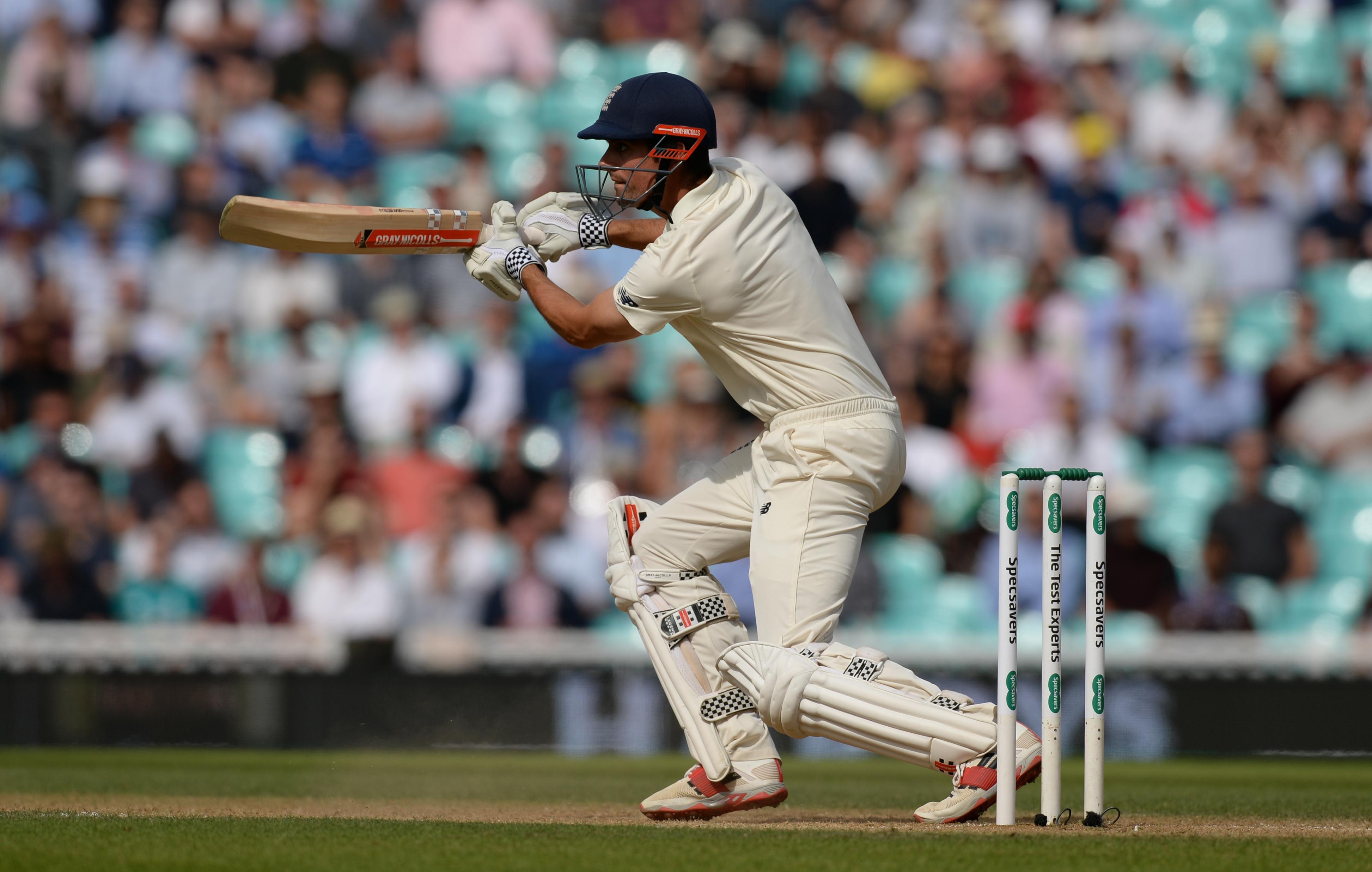 Cook also overtook Kumar Sangakkara to become the fifth-highest Test run scorer of all time